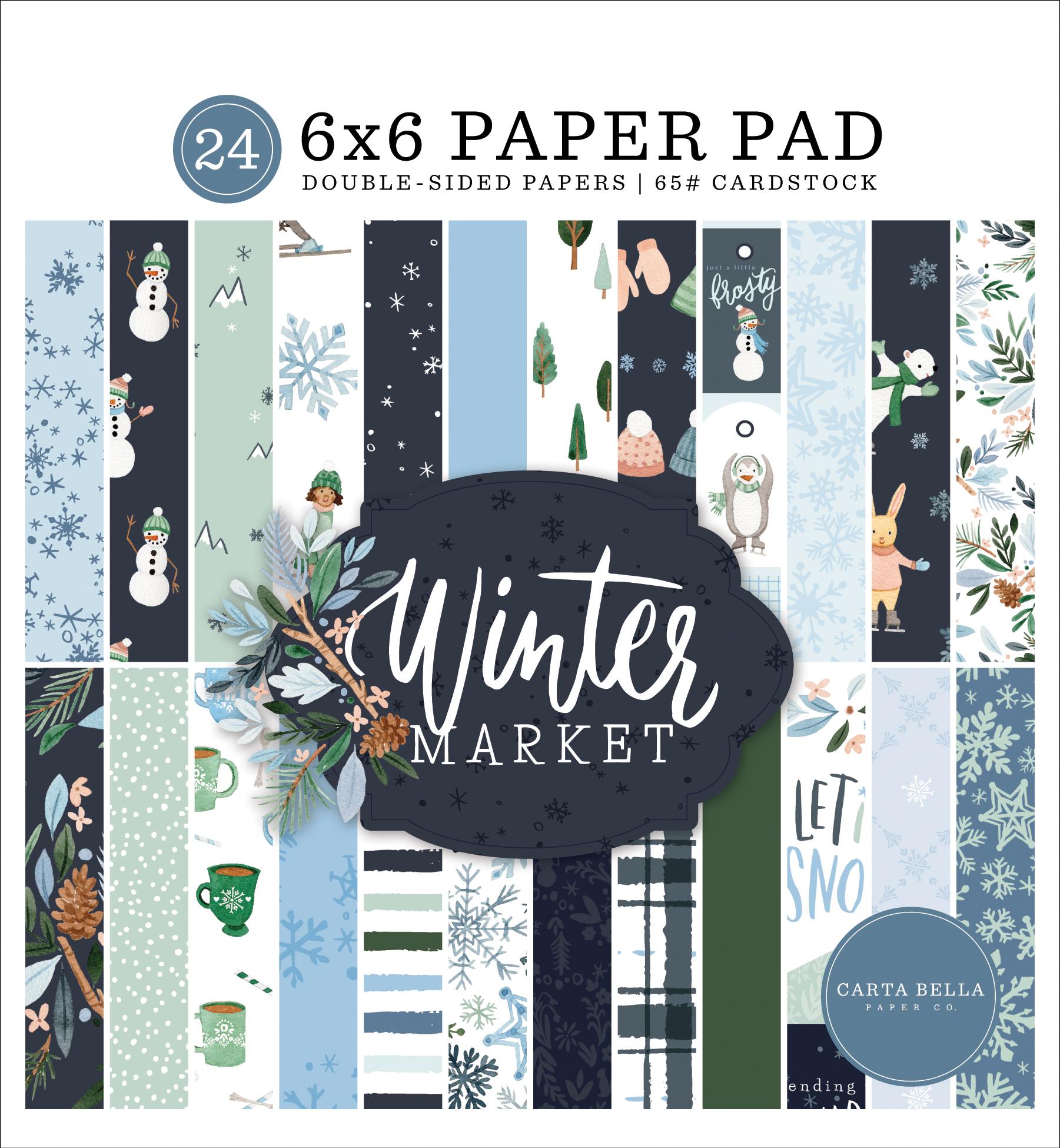 Winter Market 6x6 Paper Pad