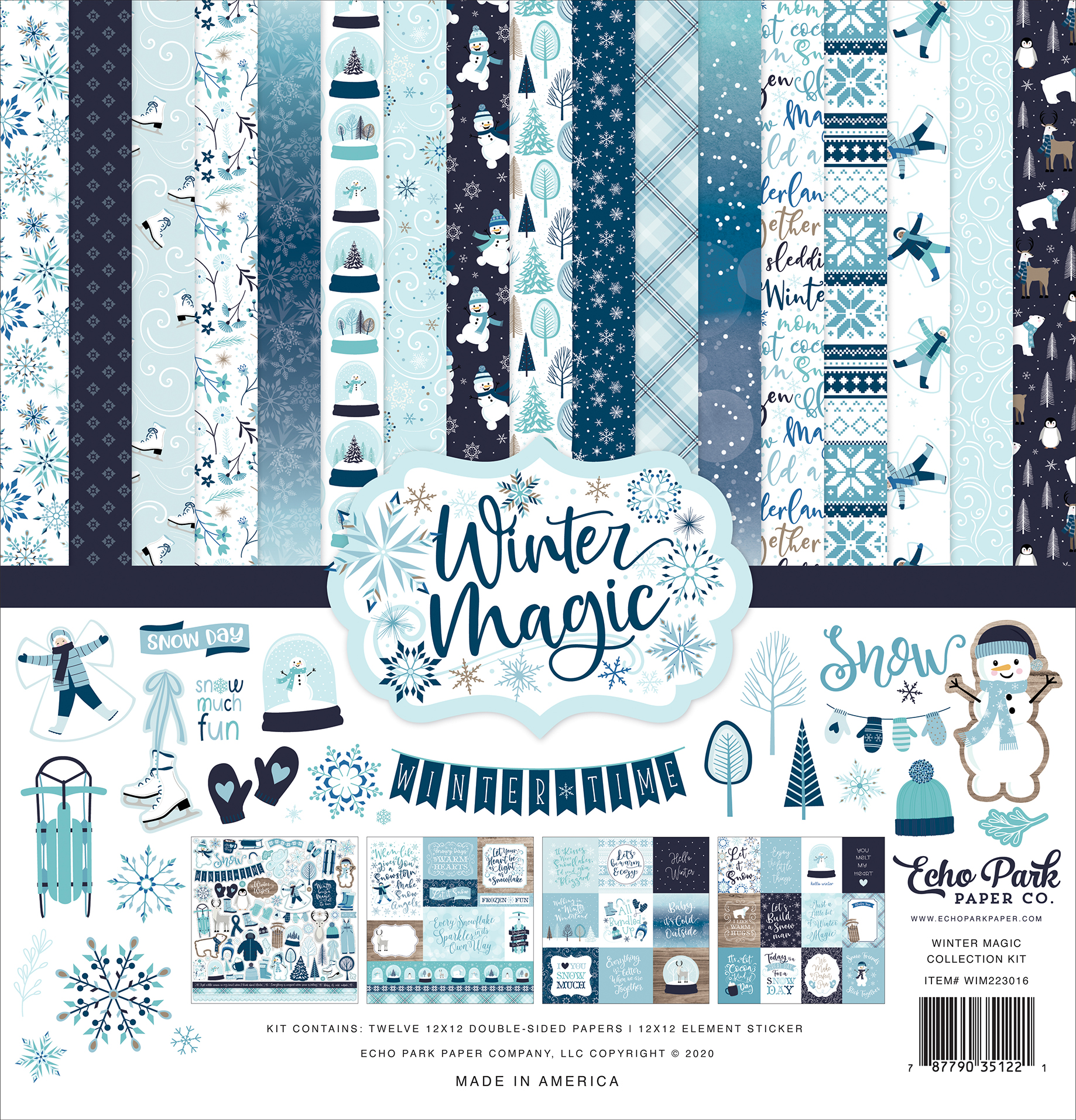 Winter Magic Collection Kit