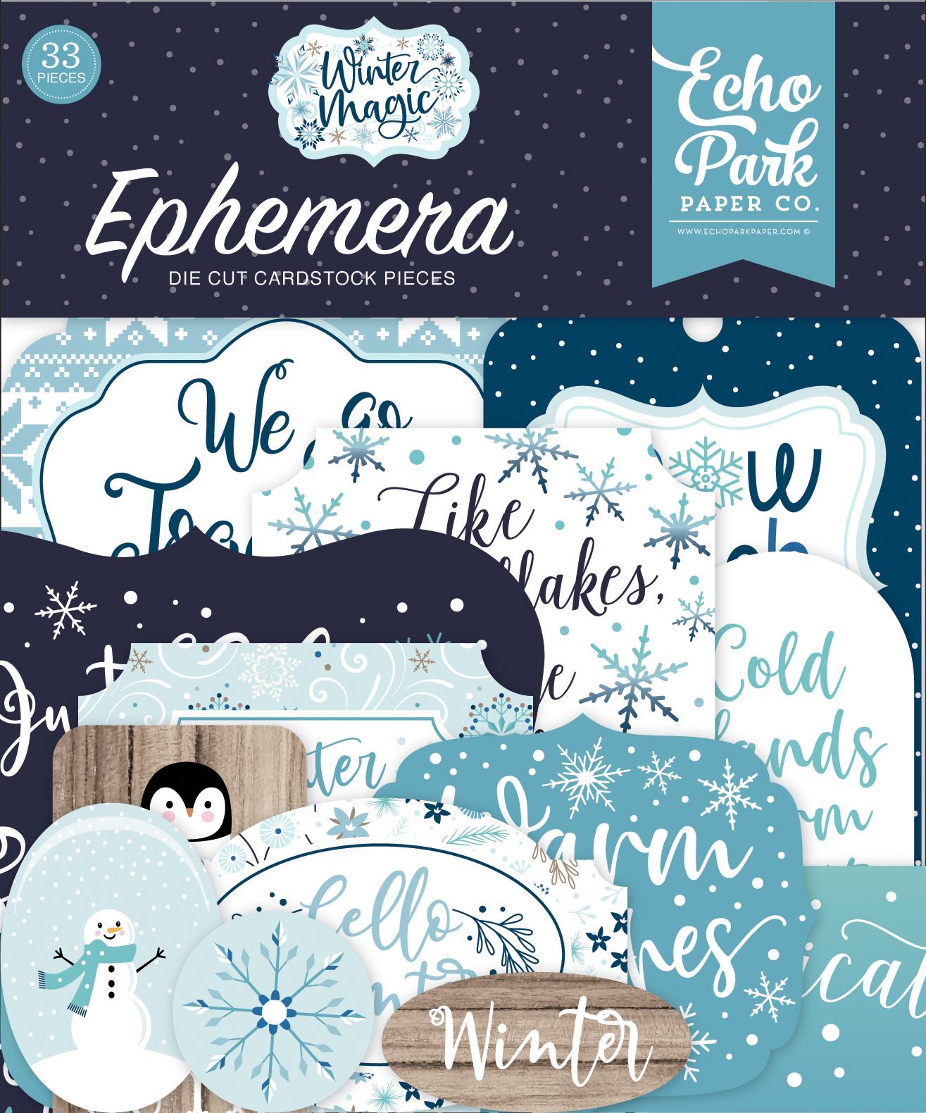 Winter Magic Ephemera