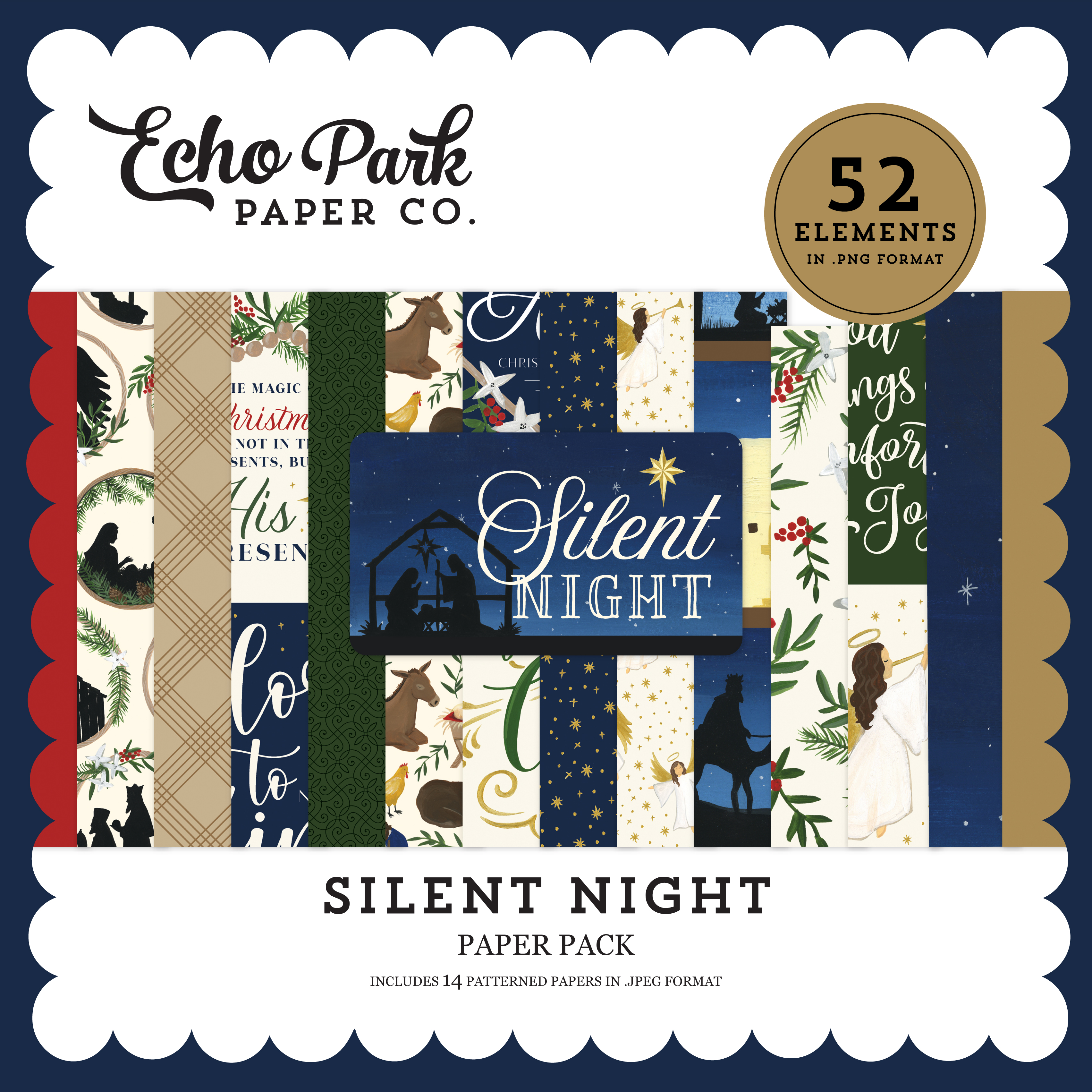 Silent Night Paper Pack