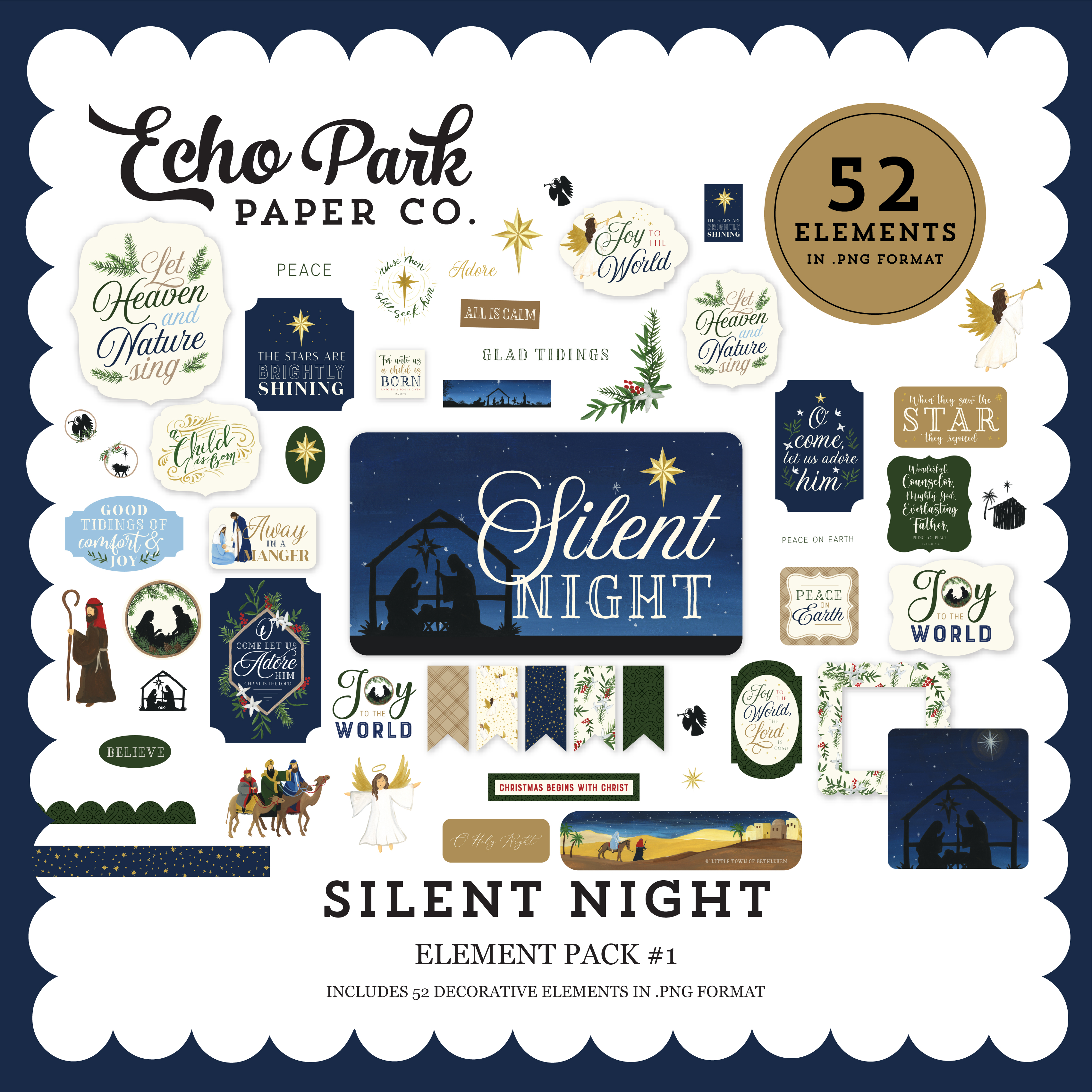Silent Night Element Pack #1