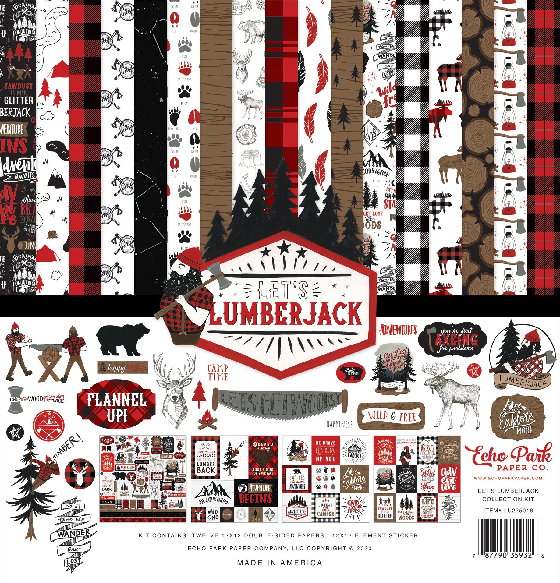 Let's Lumberjack: Collection Kit