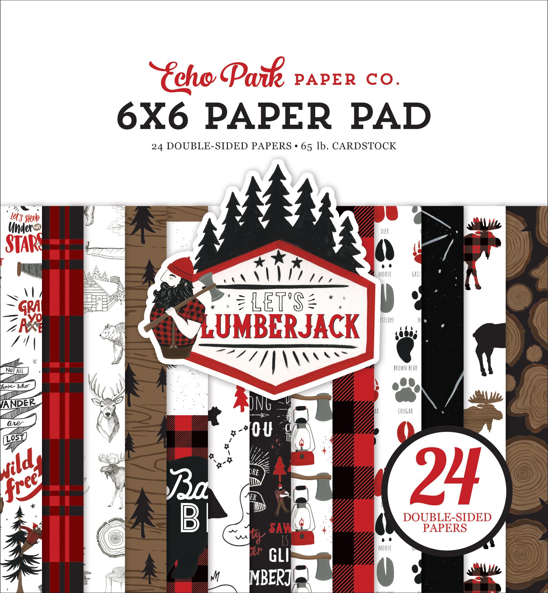 Let's Lumberjack: 6x6 Paper Pad
