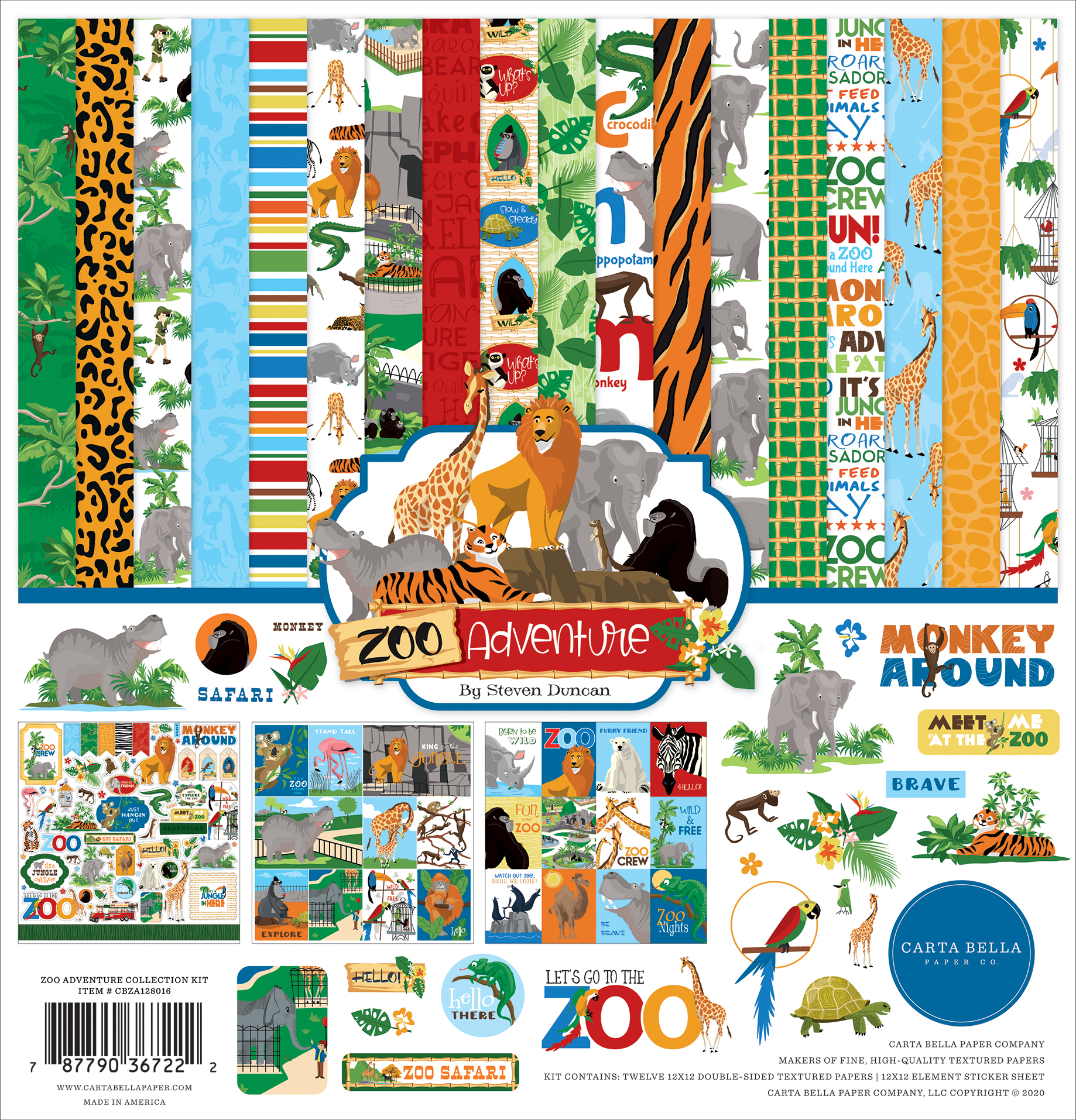 Zoo Adventure Collection Kit