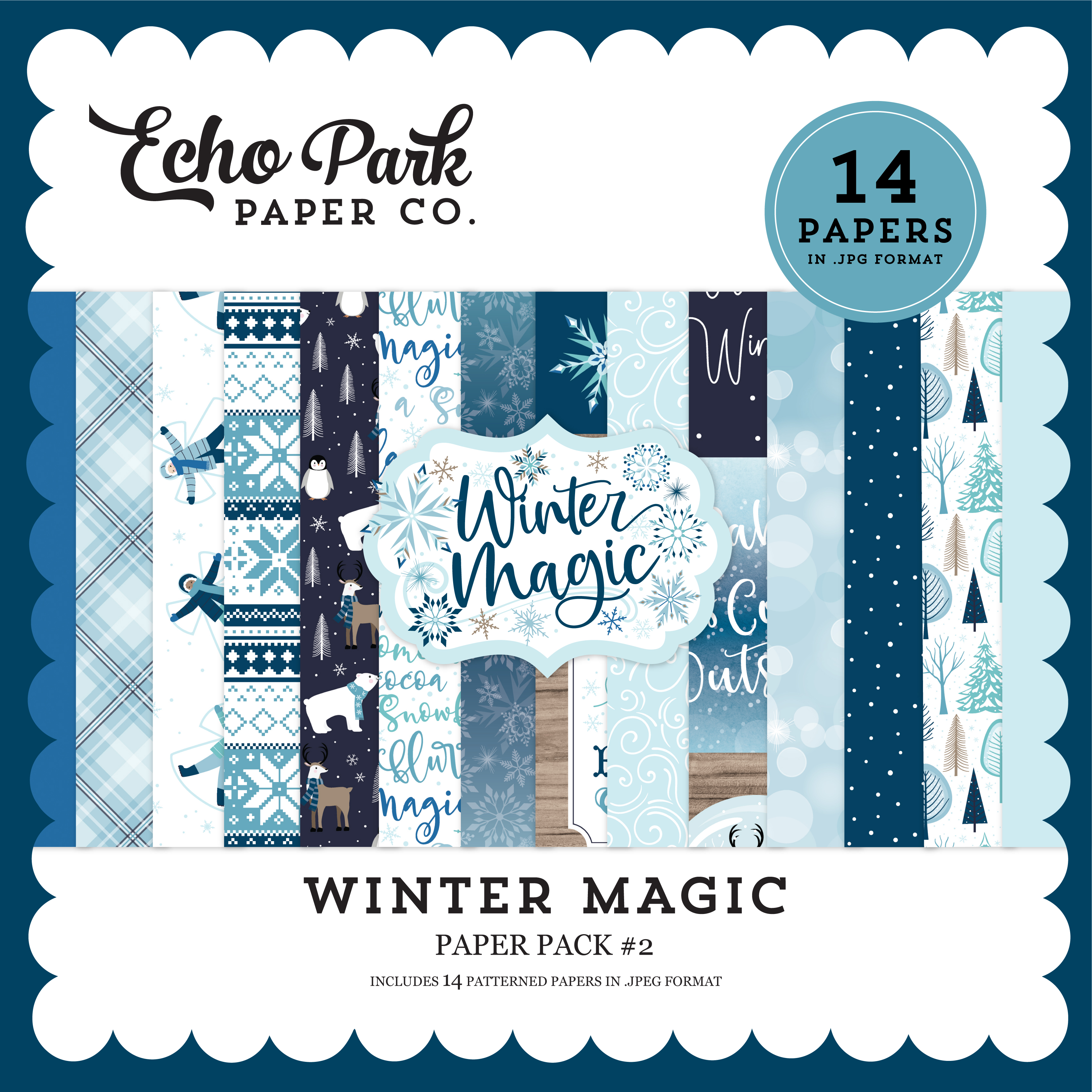 Winter Magic Paper Pack #2