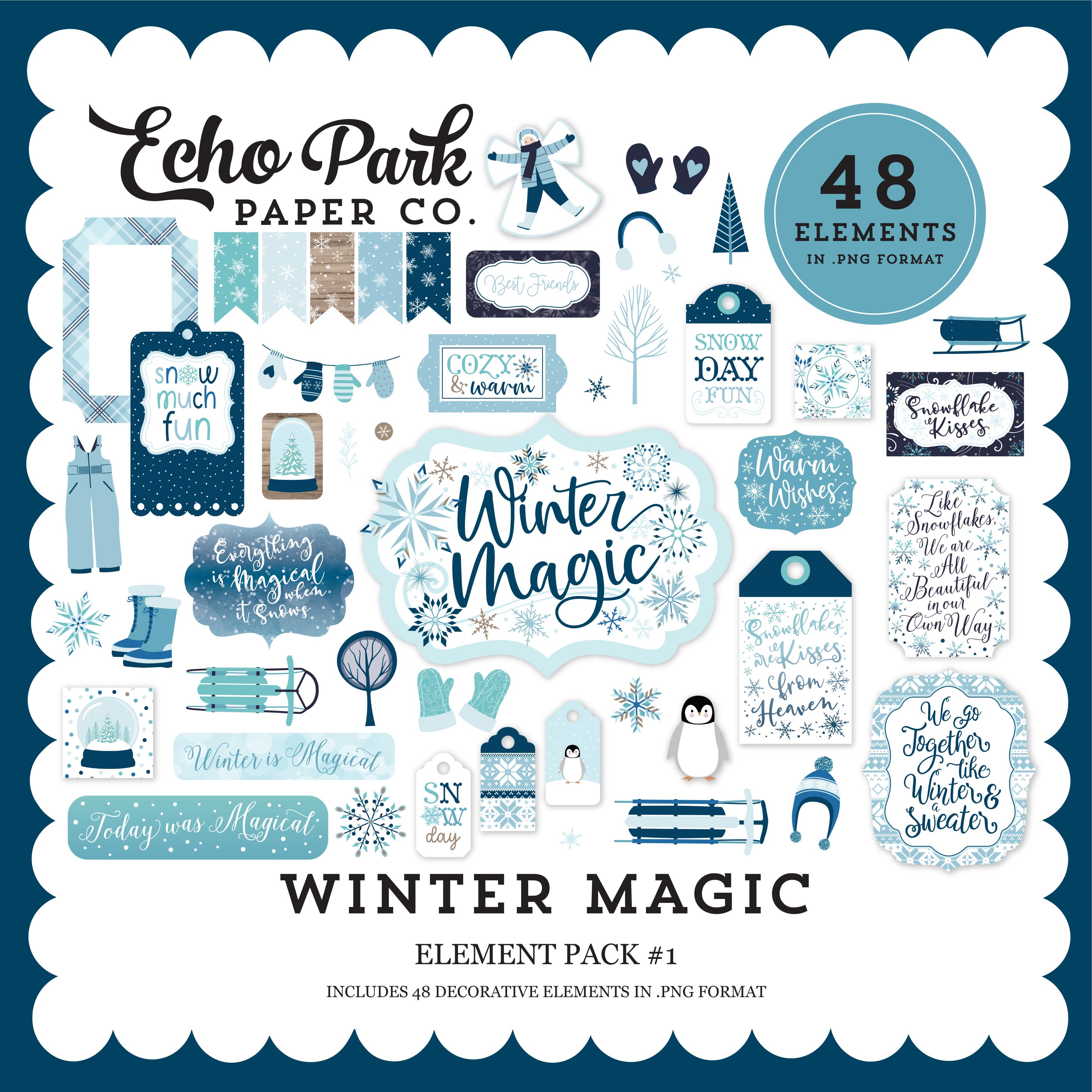 Winter Magic Element Pack #1