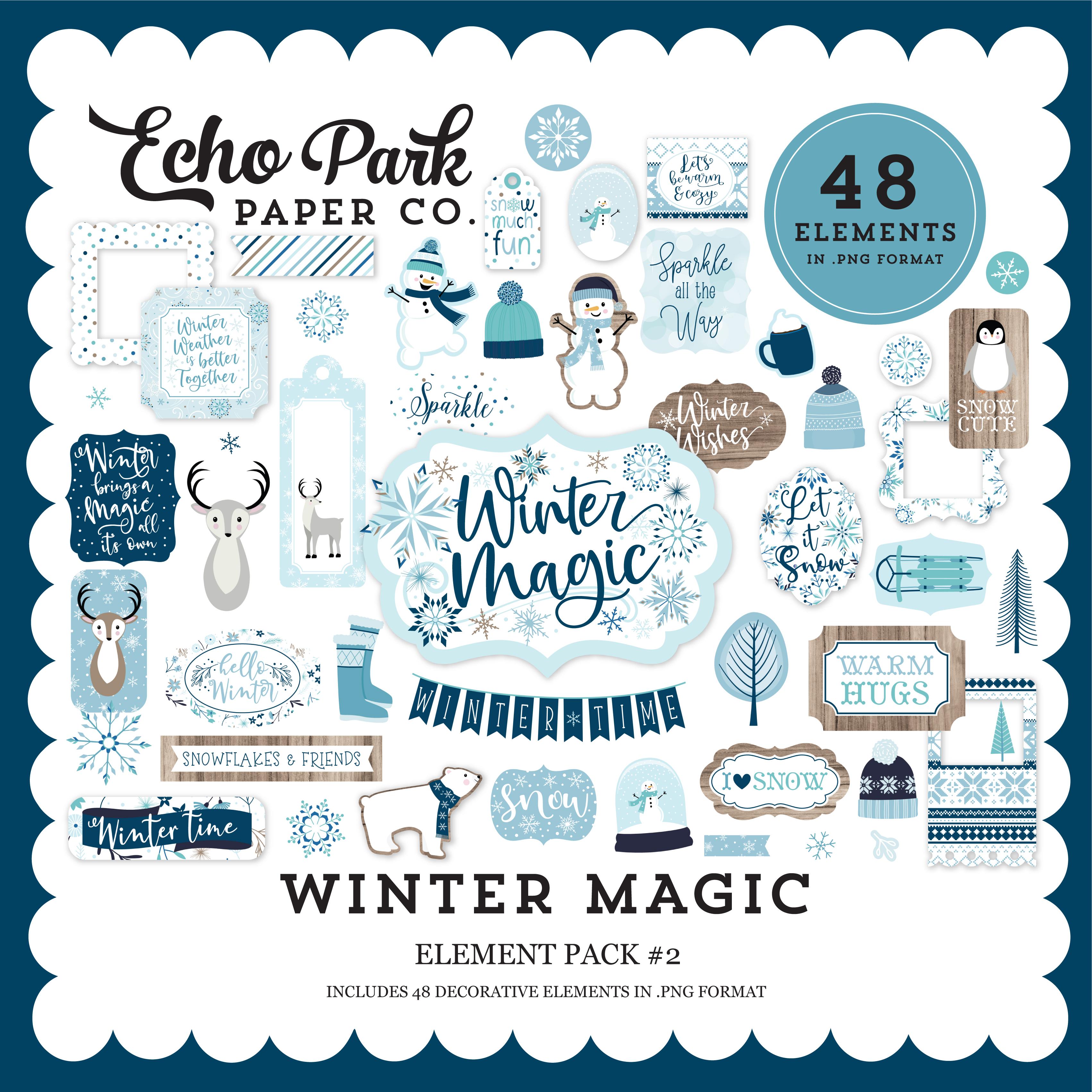 Winter Magic Element Pack #2