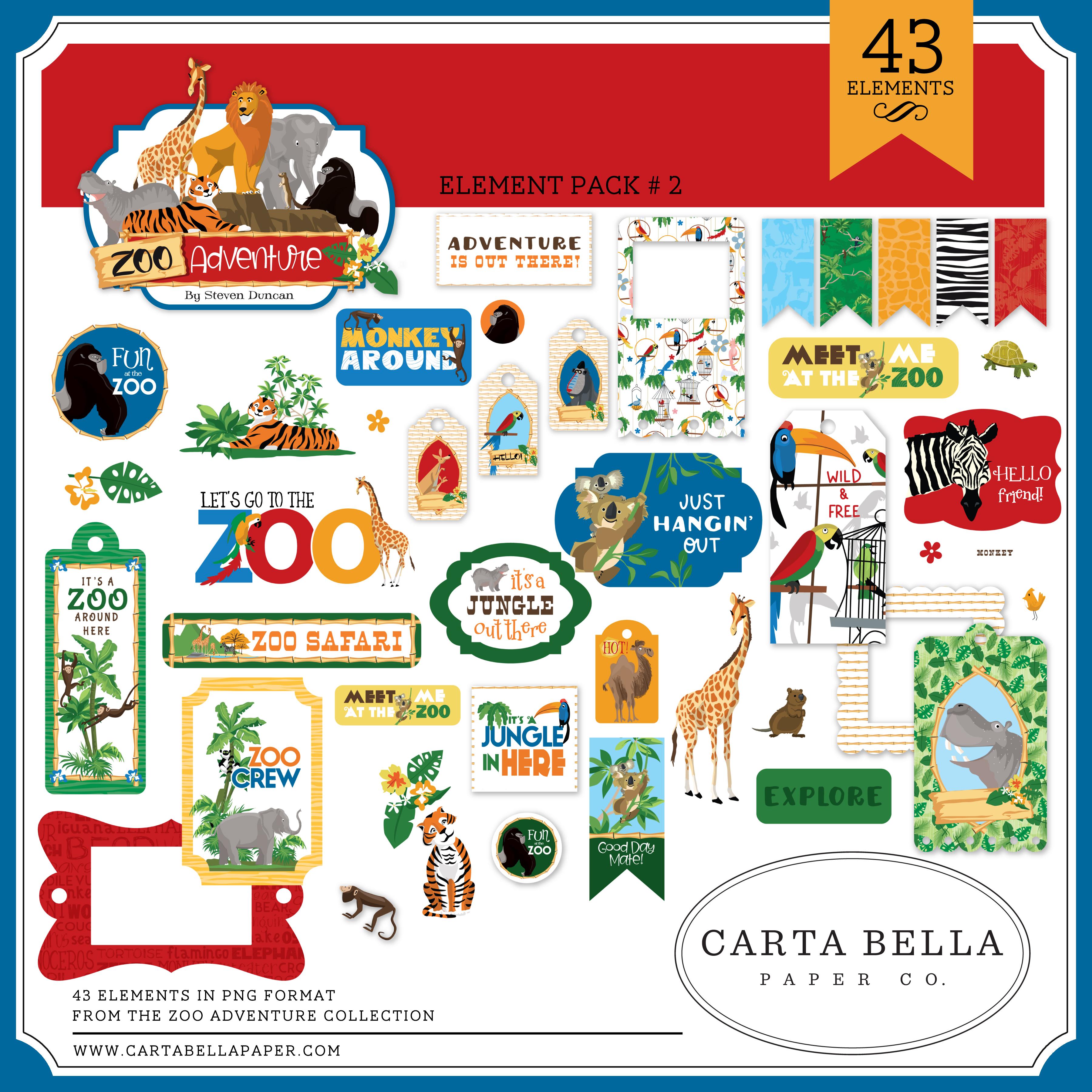 Zoo Adventure Element Pack #2