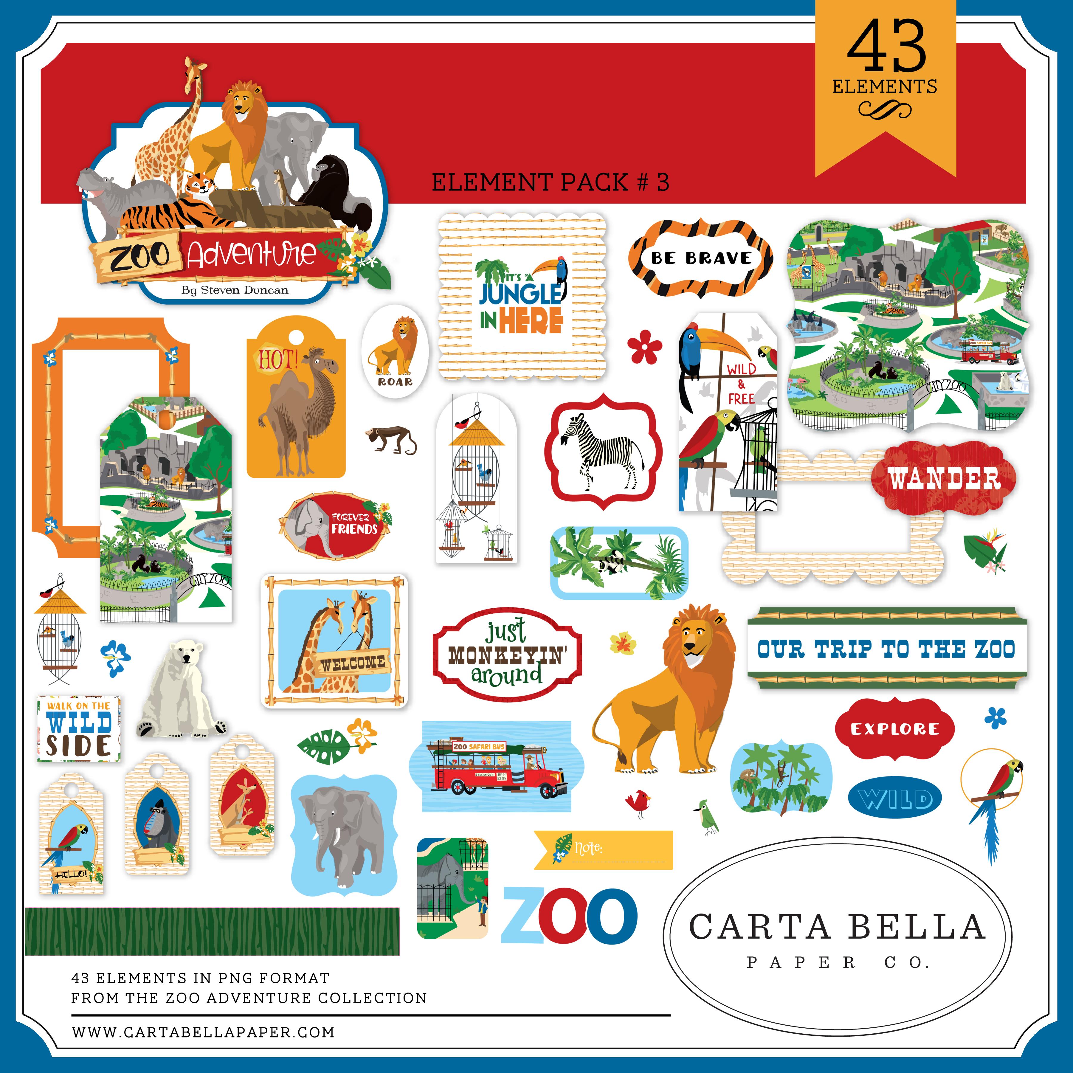 Zoo Adventure Mega Collection
