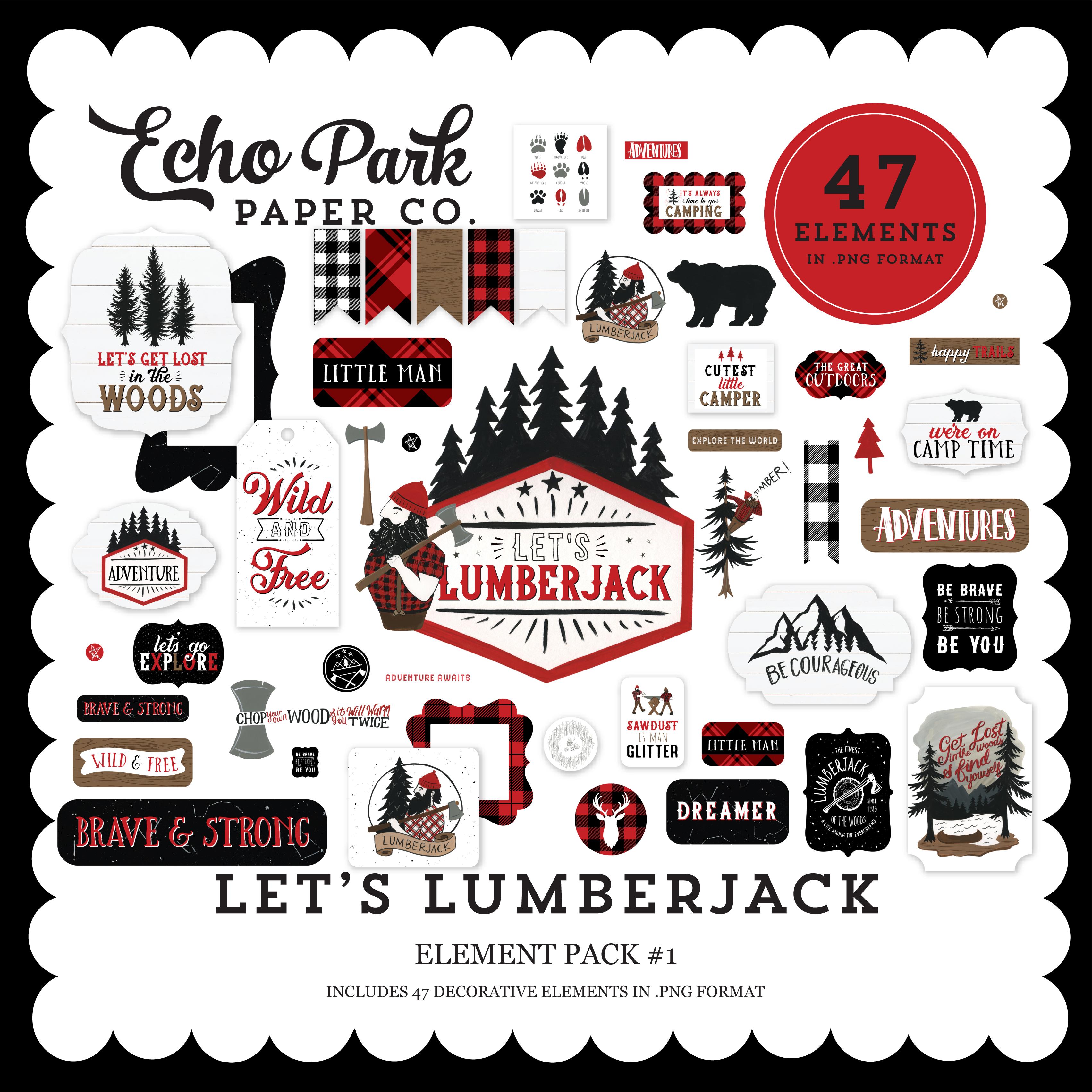Let's Lumberjack Element Pack #1
