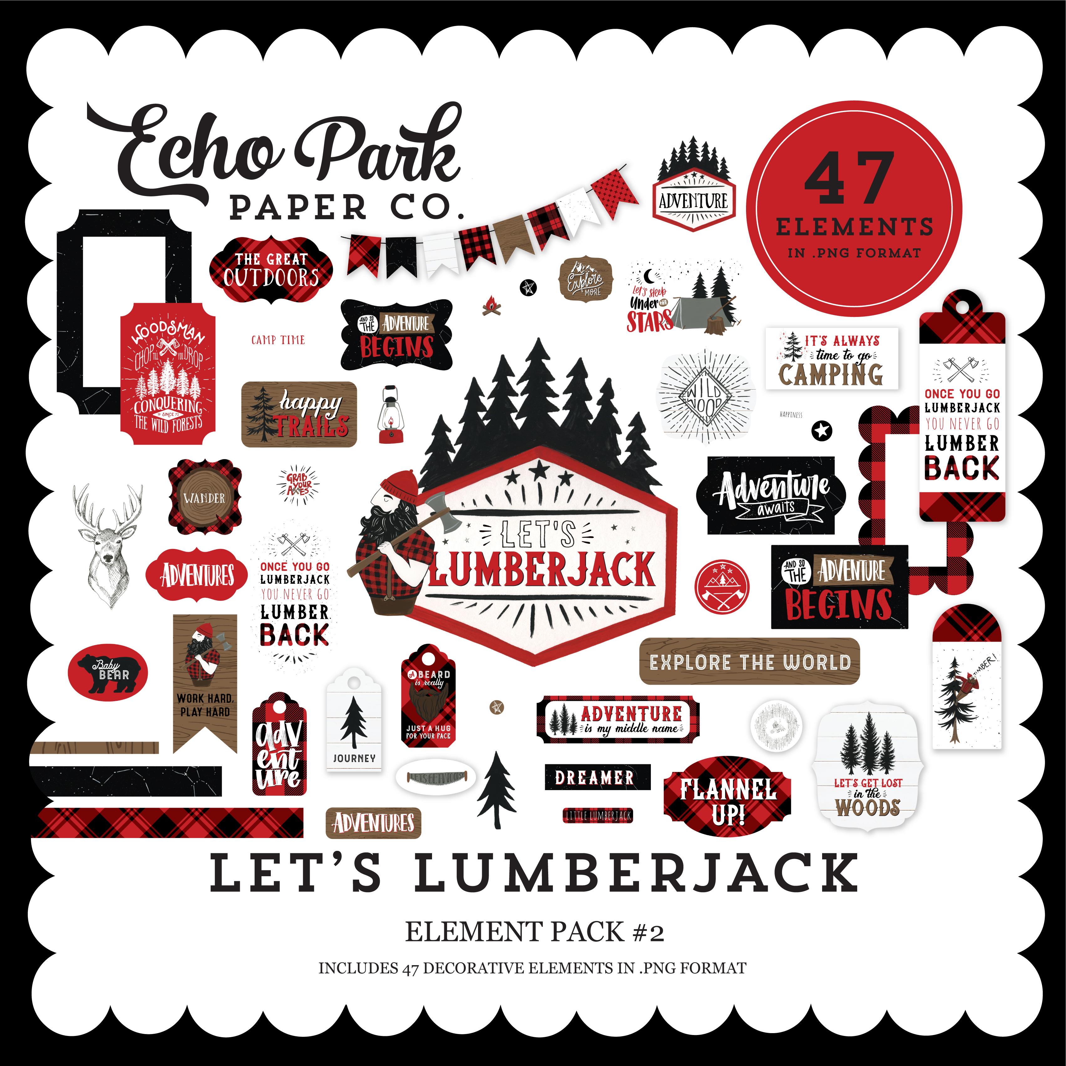 Let's Lumberjack Element Pack #2