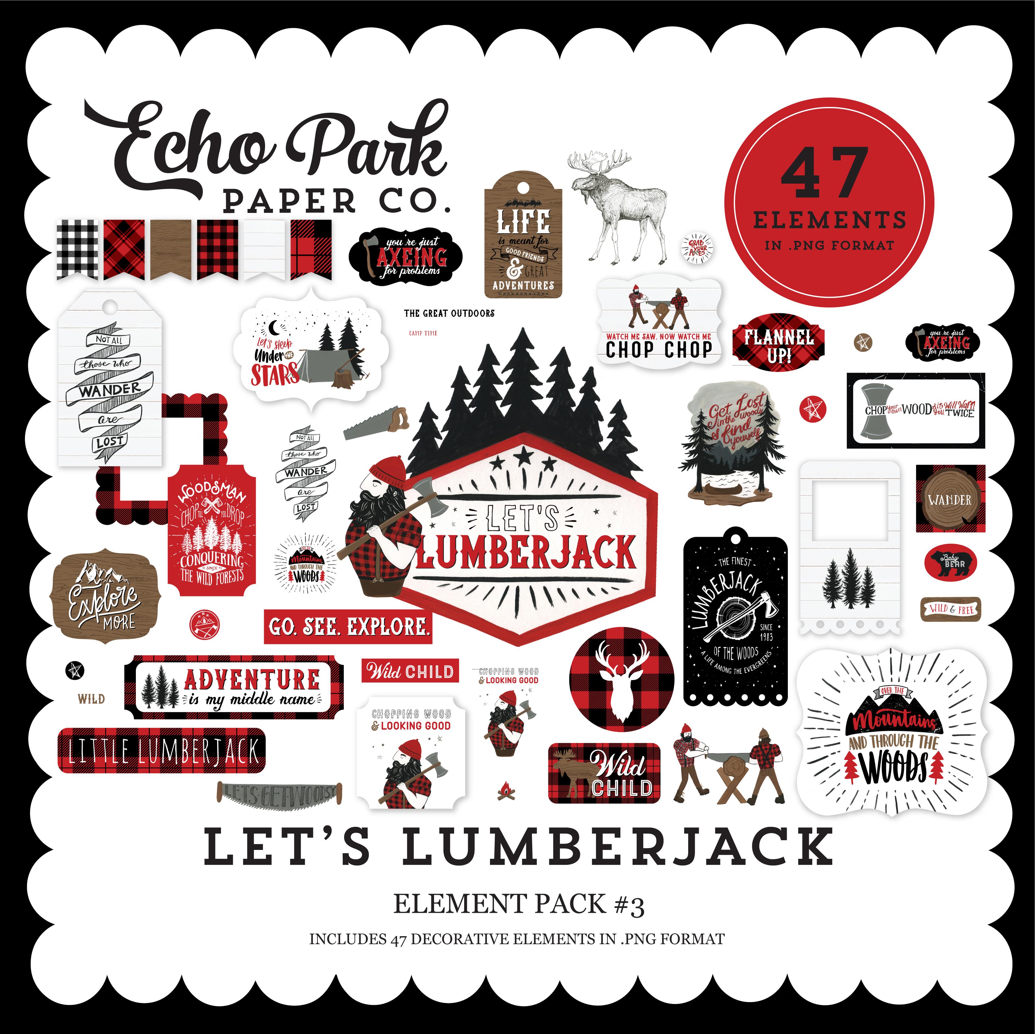 Let's Lumberjack Element Pack #3