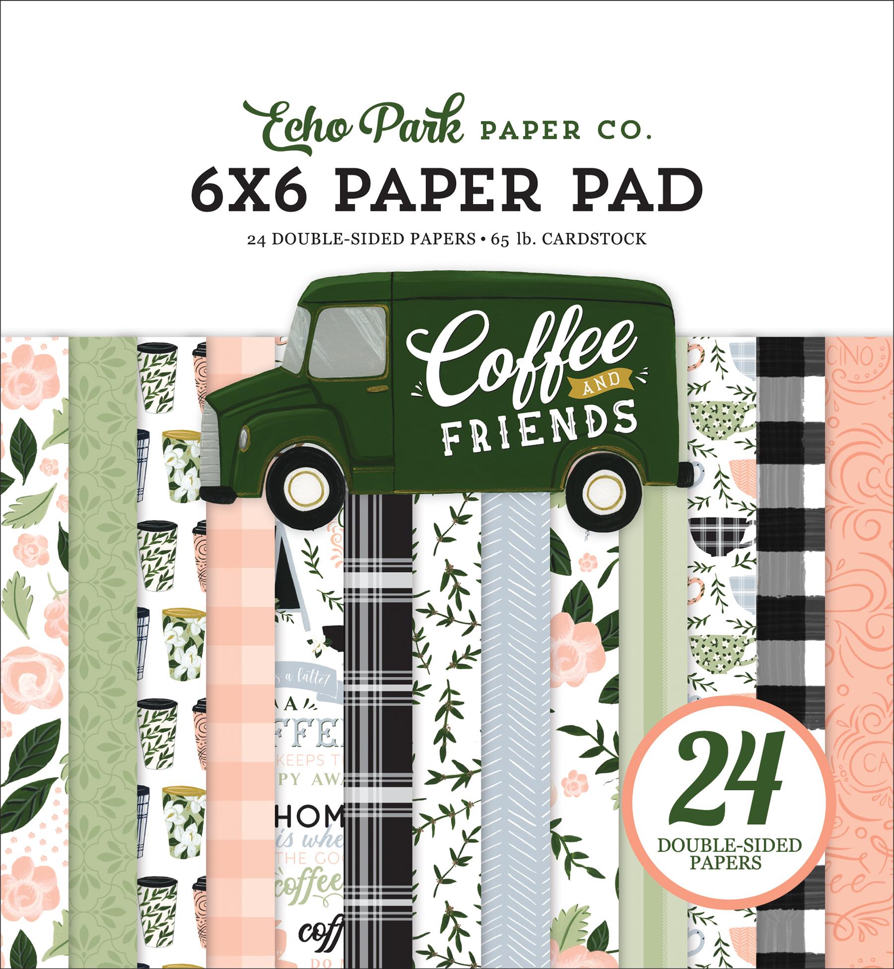 Coffee & Friends 6x6 Paper Pad