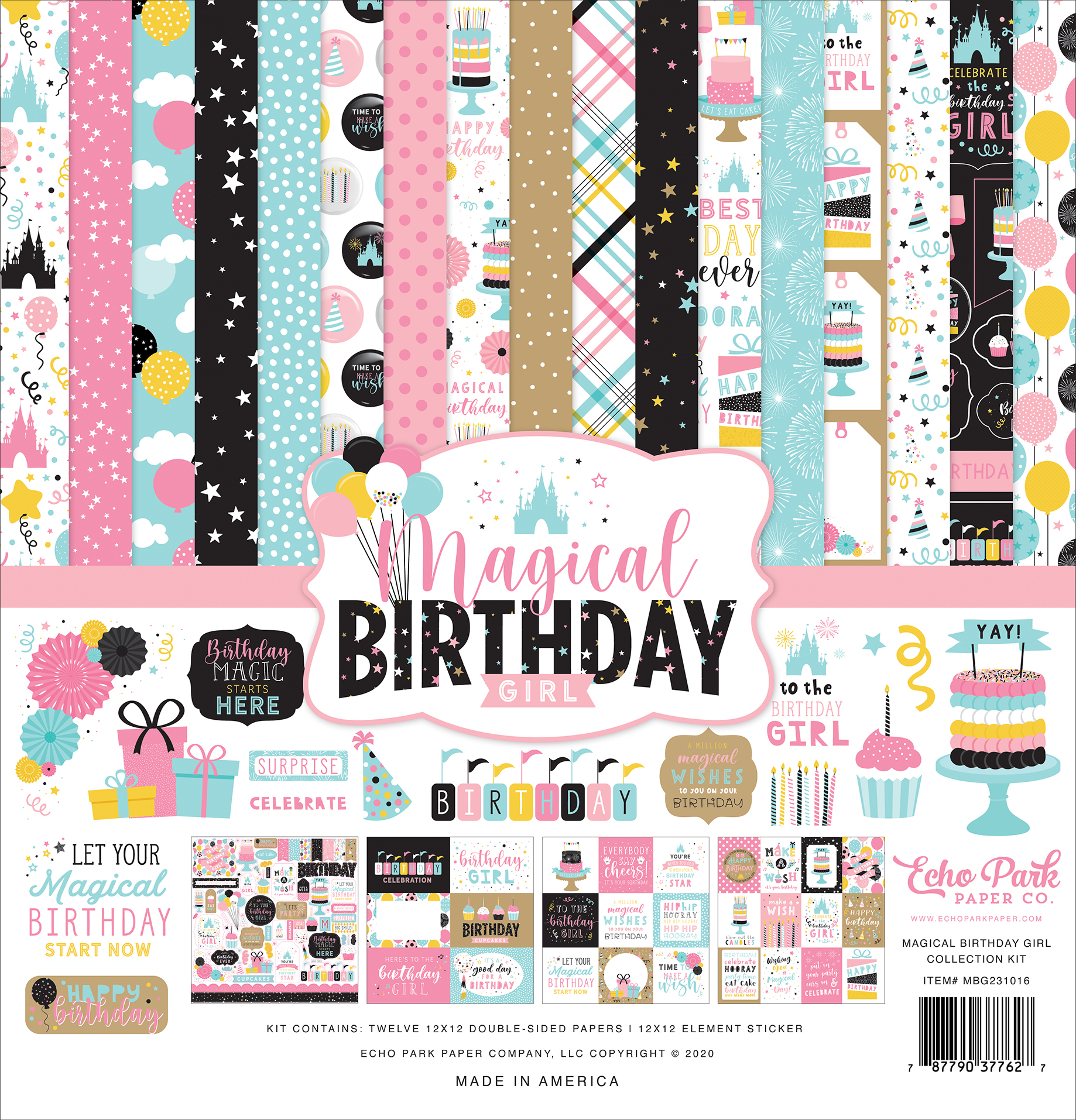 Magical Birthday Girl Collection Kit
