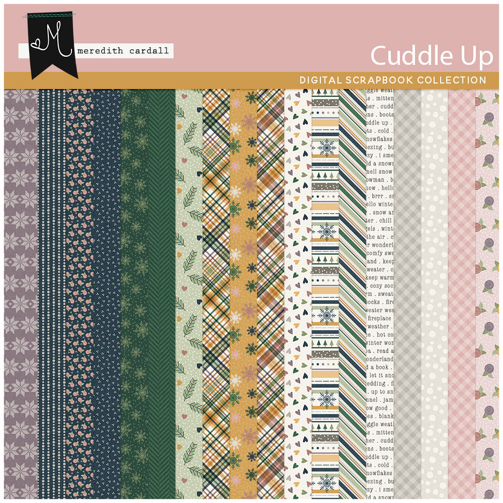 Cuddle Up Paper Pack 1