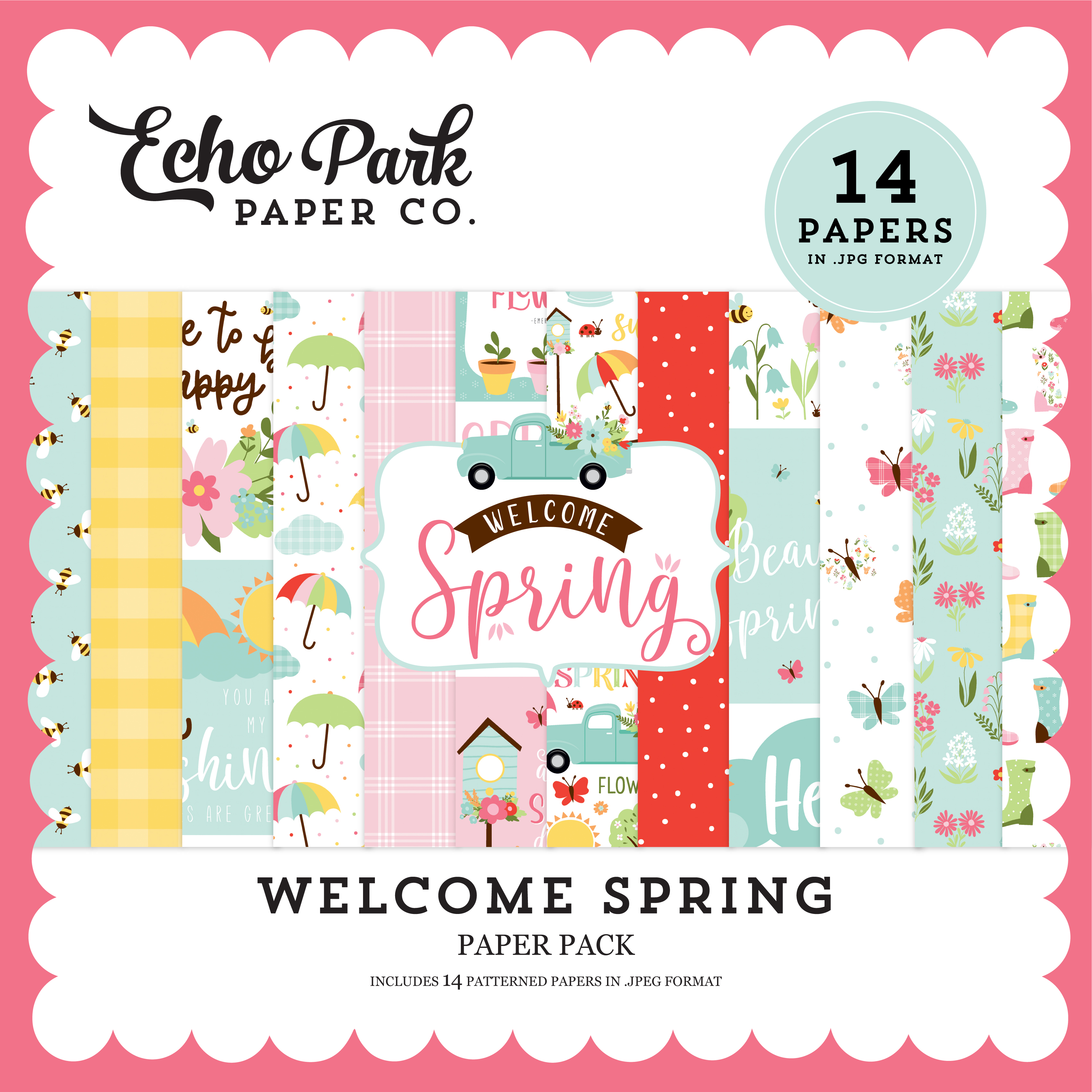 Welcome Spring Paper Pack
