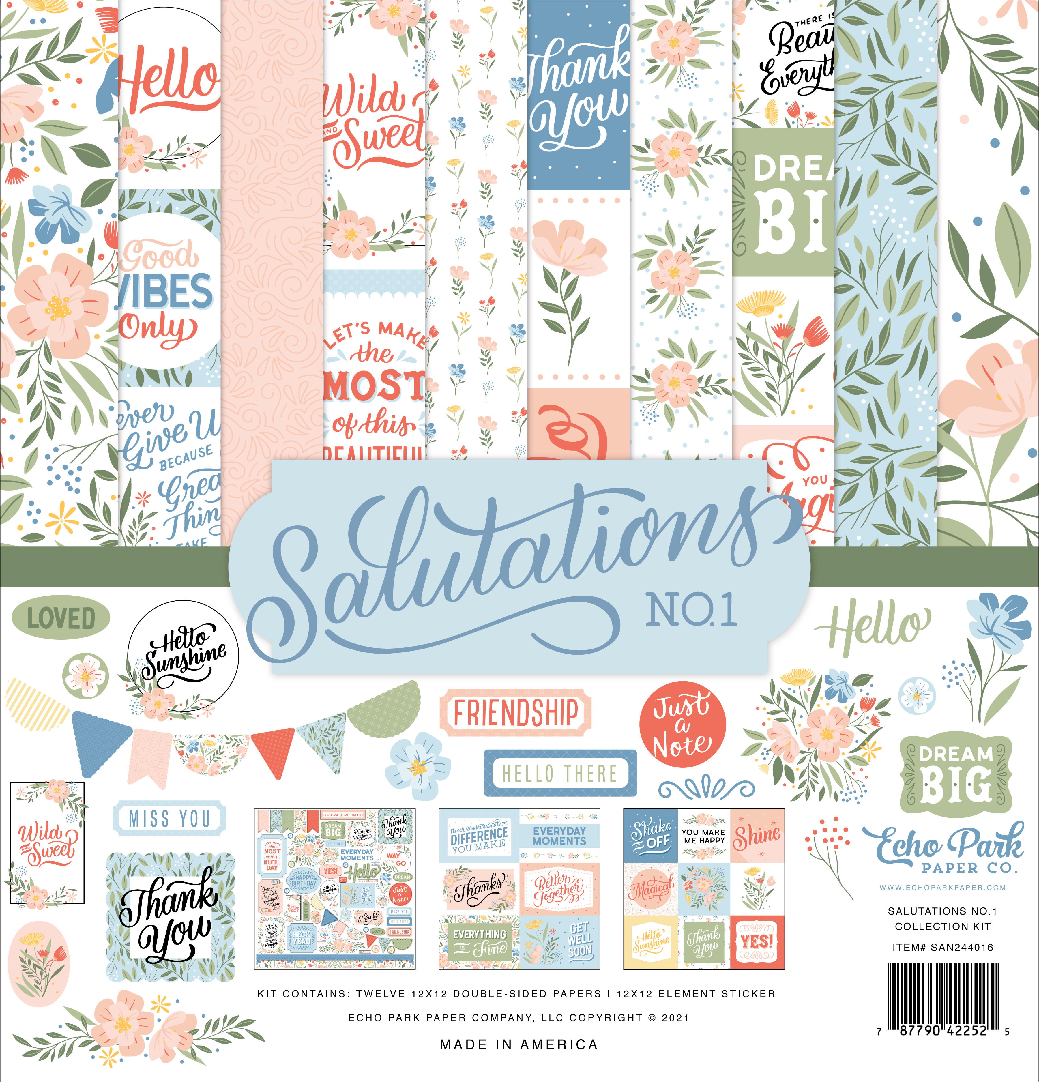 Salutations No. 1 Collection Kit