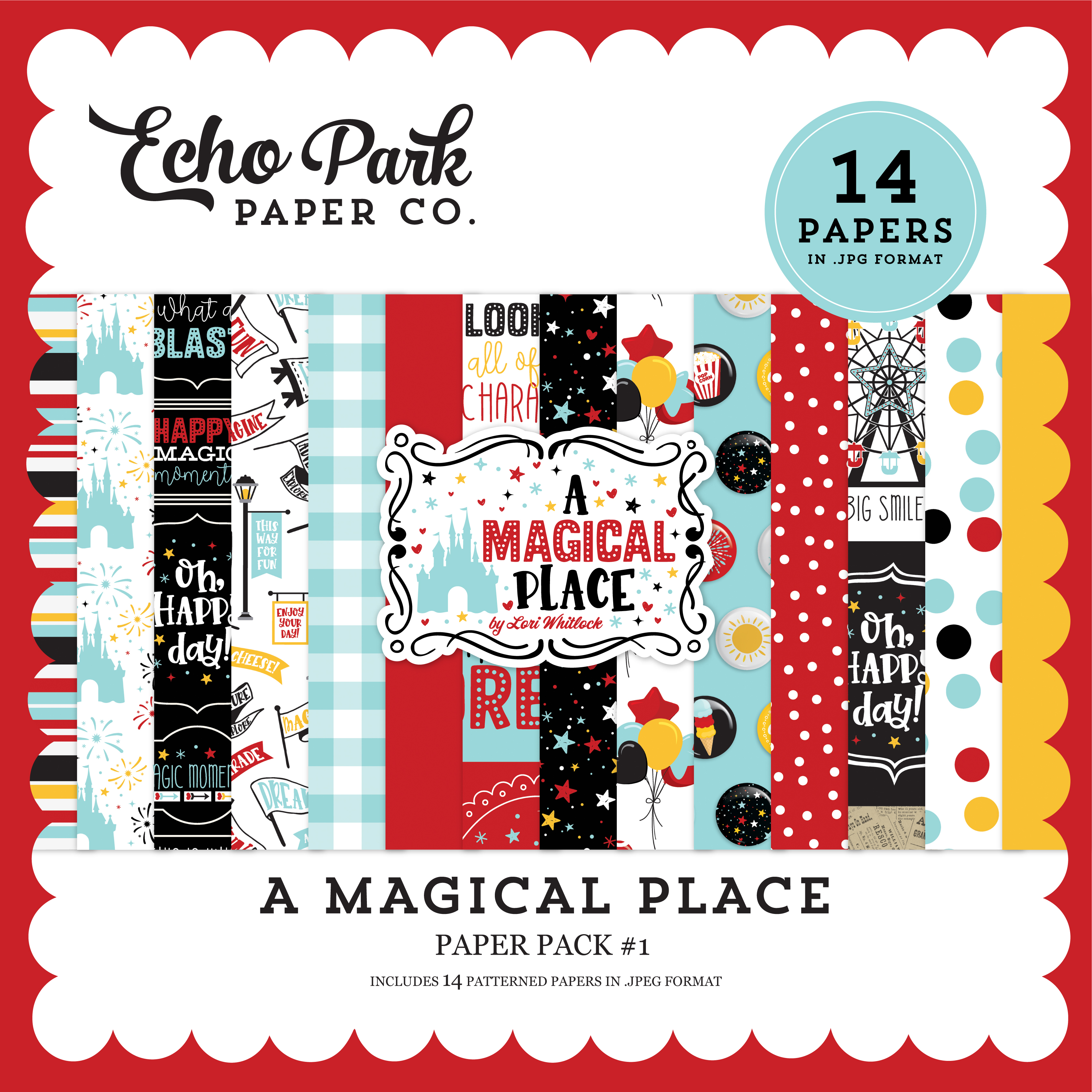 A Magical Place Paper Pack #1