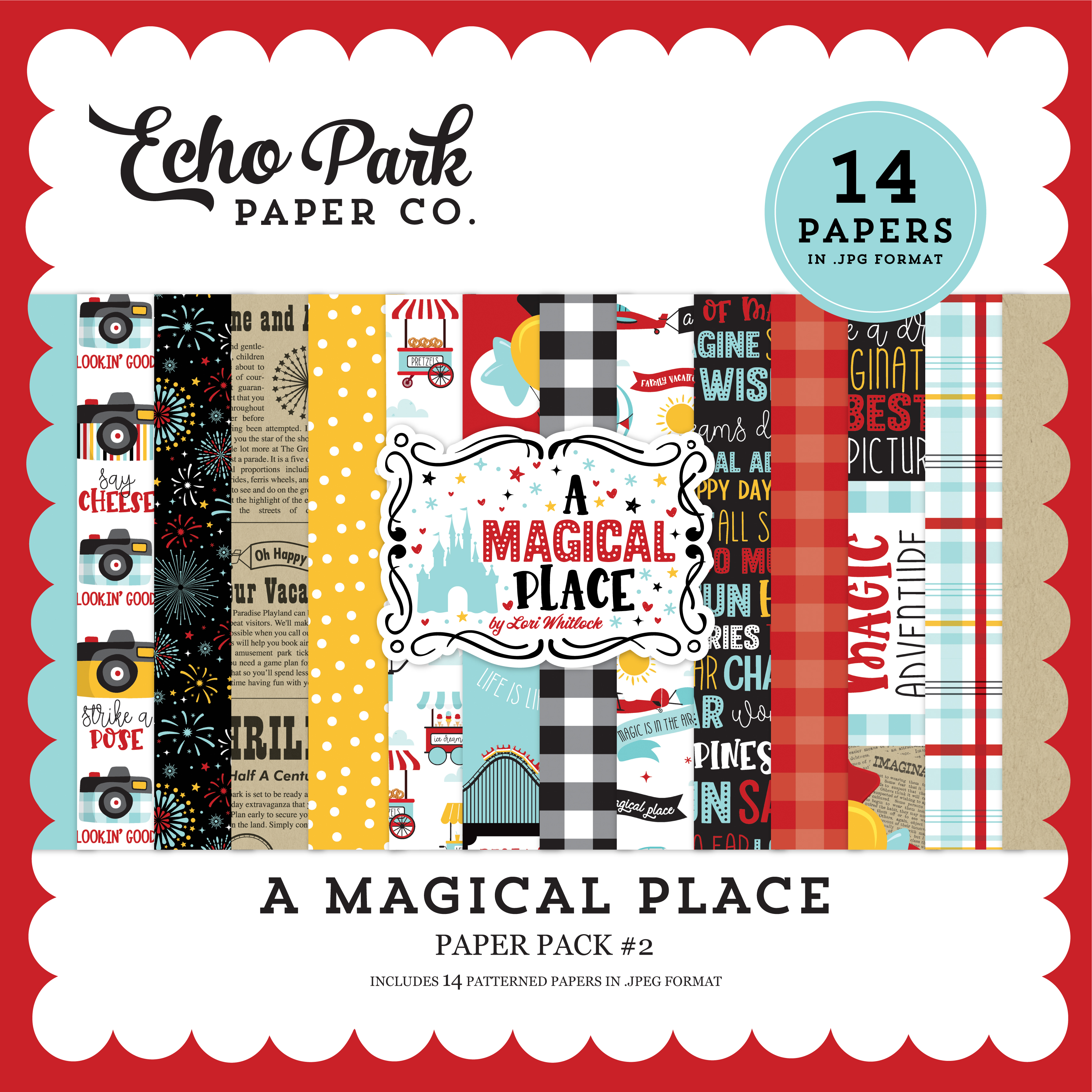 A Magical Place Paper Pack #2