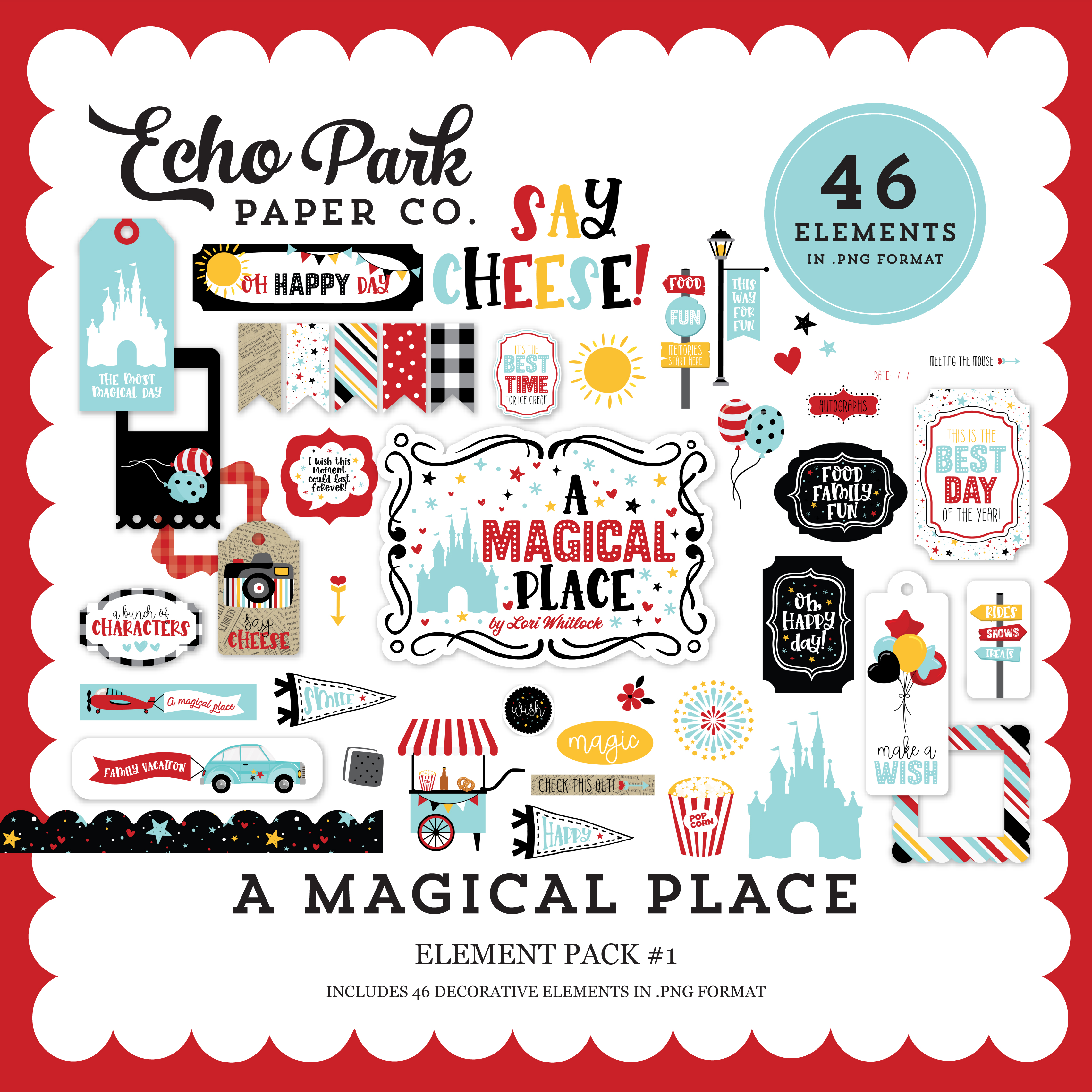 A Magical Place Element Pack #1