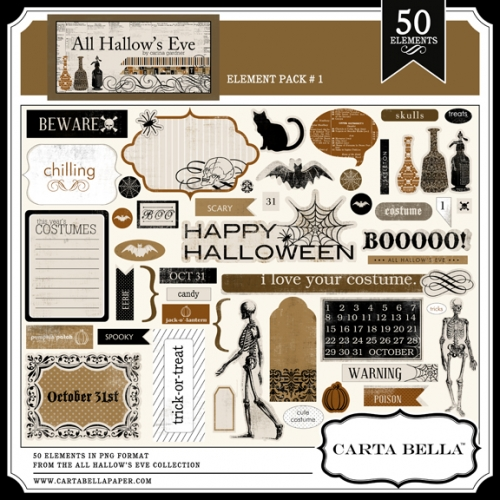 ALL HALLOW'S EVE Element Pack 1