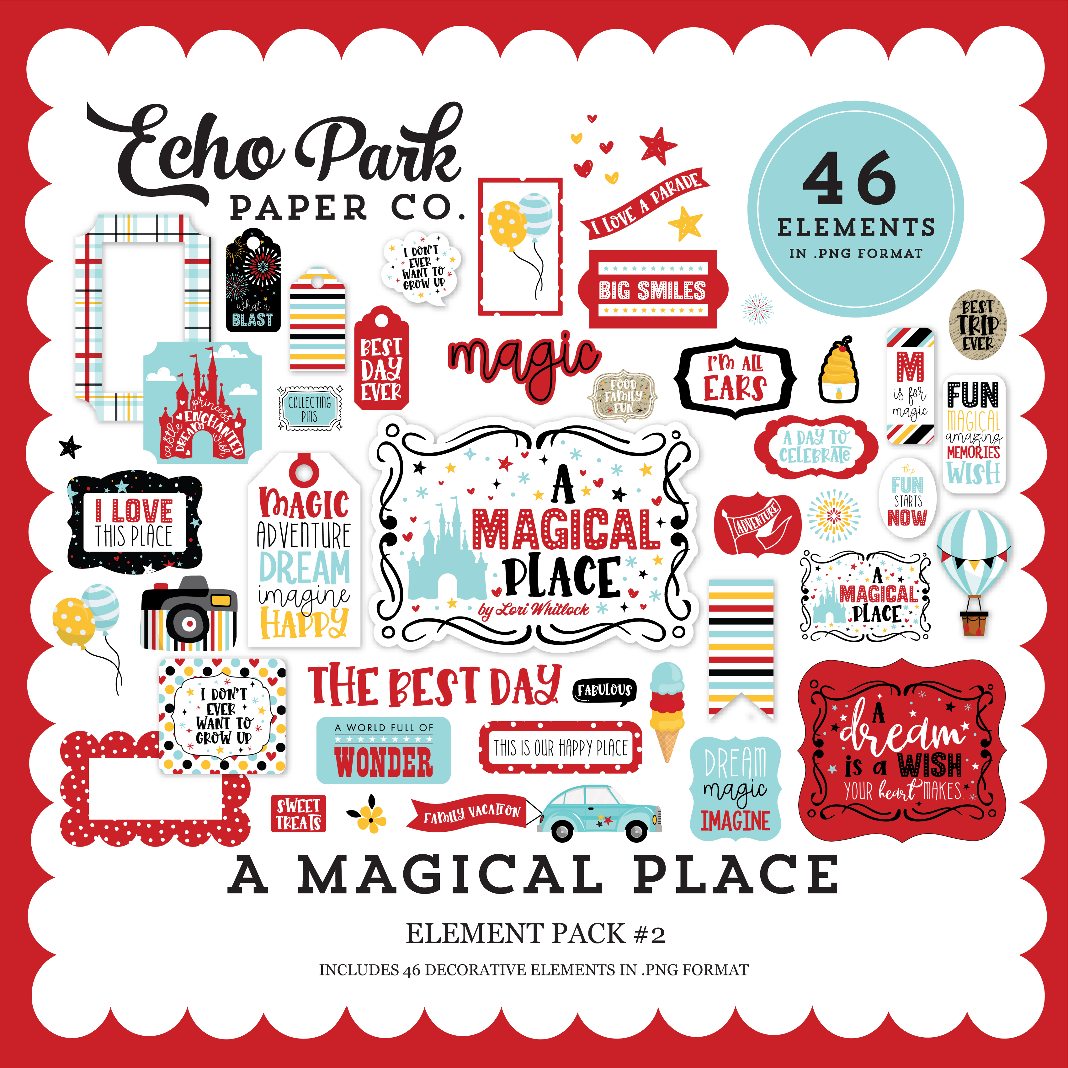 A Magical Place Element Pack #2