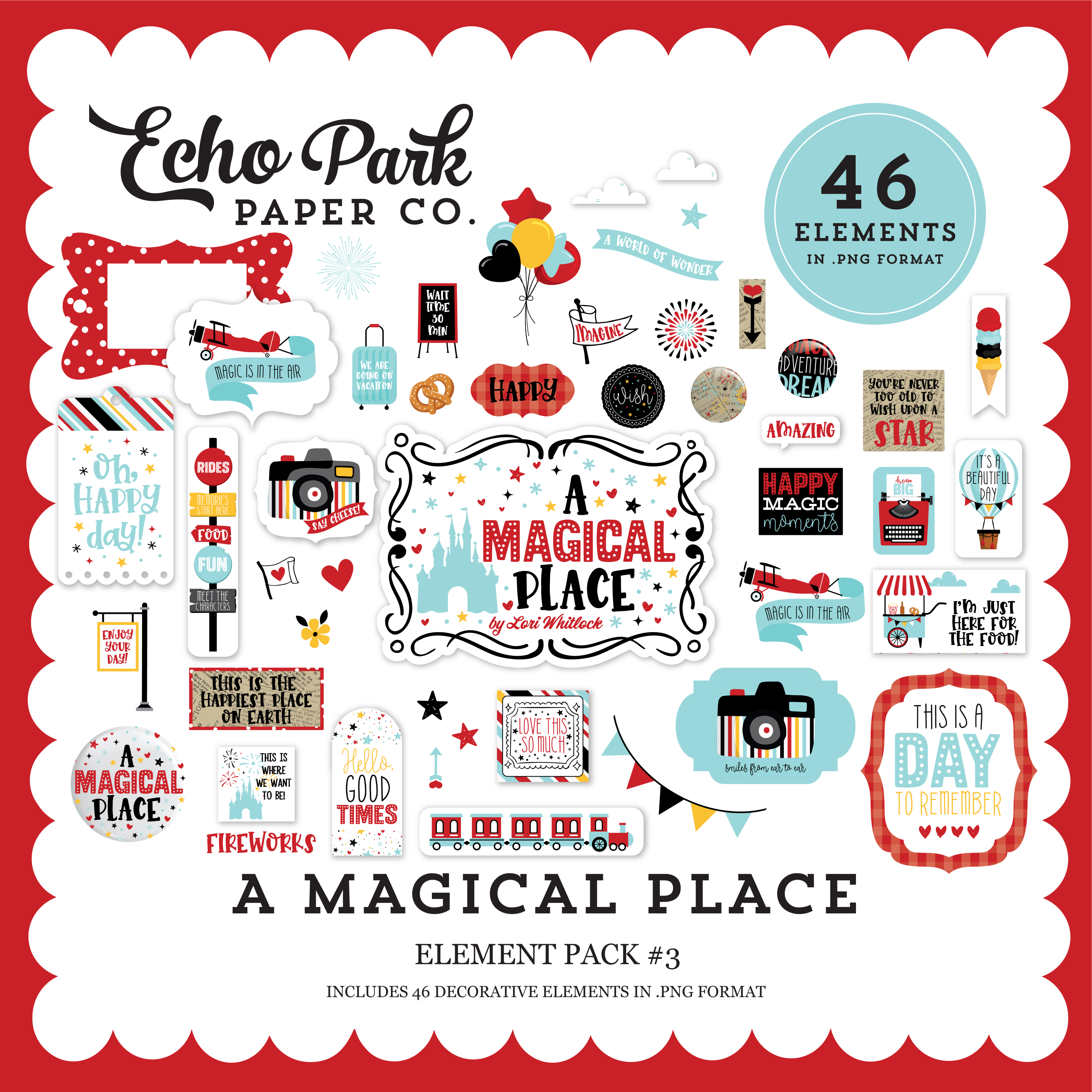 A Magical Place Element Pack #3
