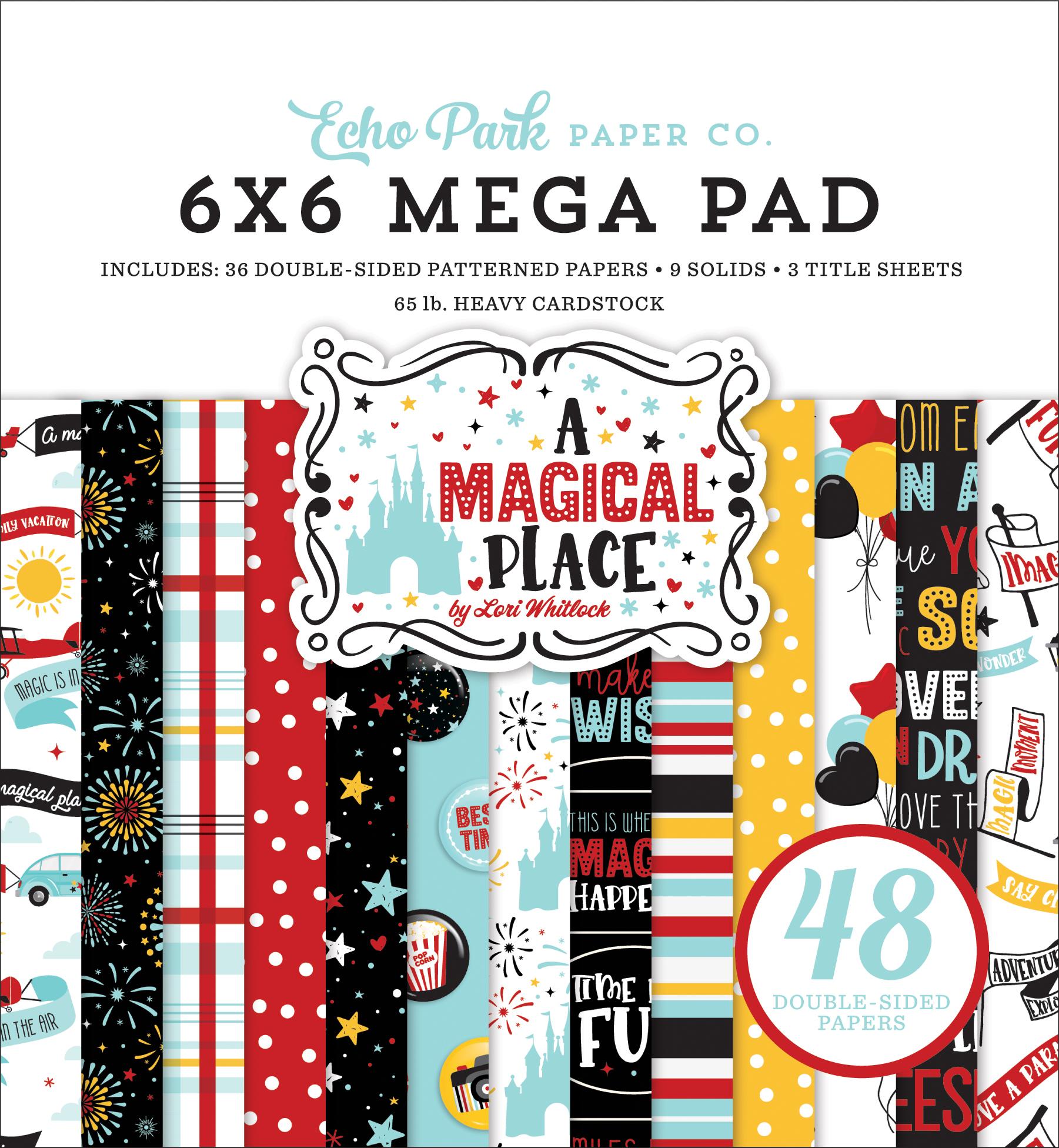A Magical Place Cardmakers 6x6 Mega Pad