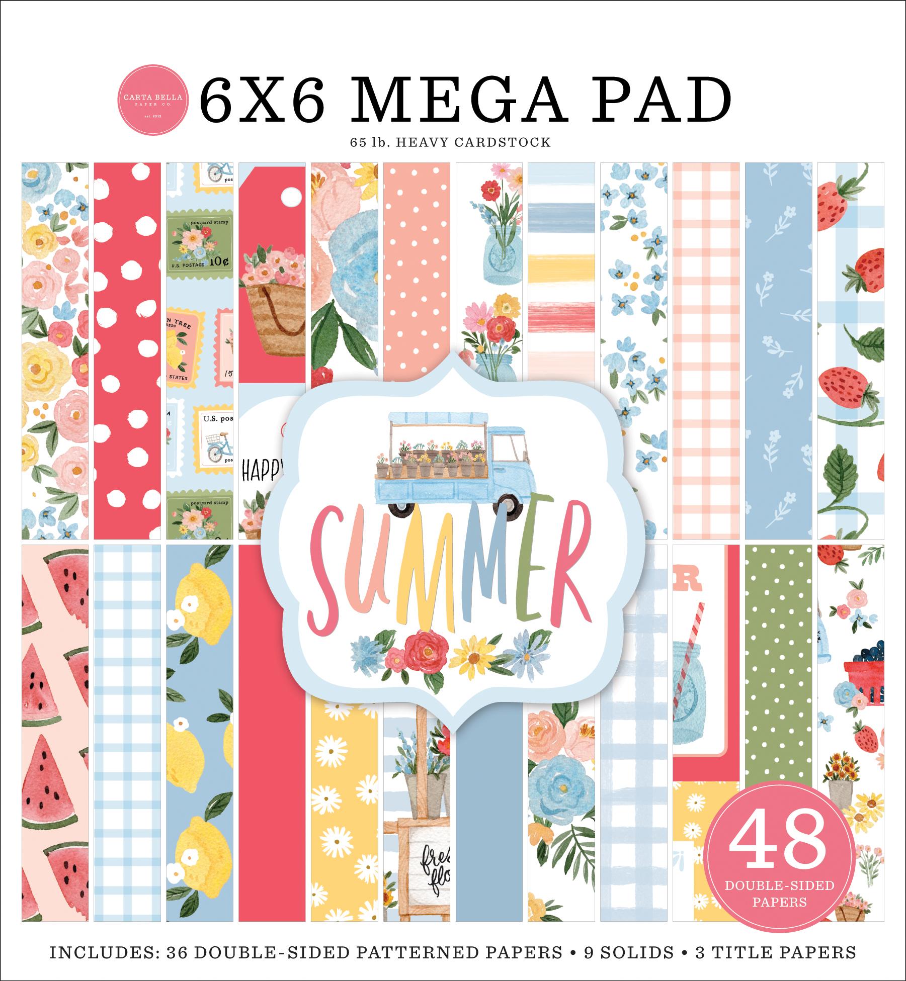 Summer 6x6 Cardmakers Mega Pad