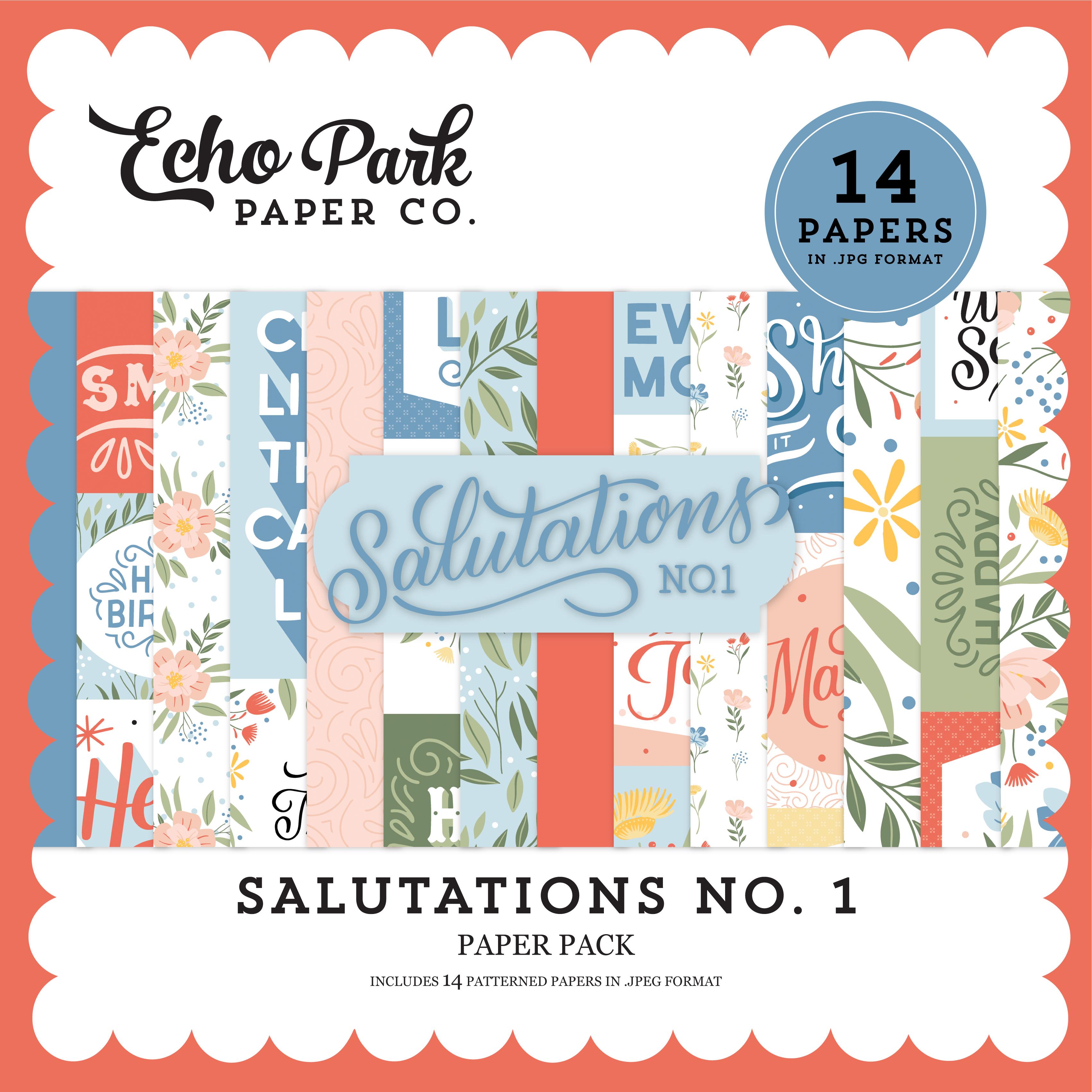 Salutations No. 1 Paper Pack