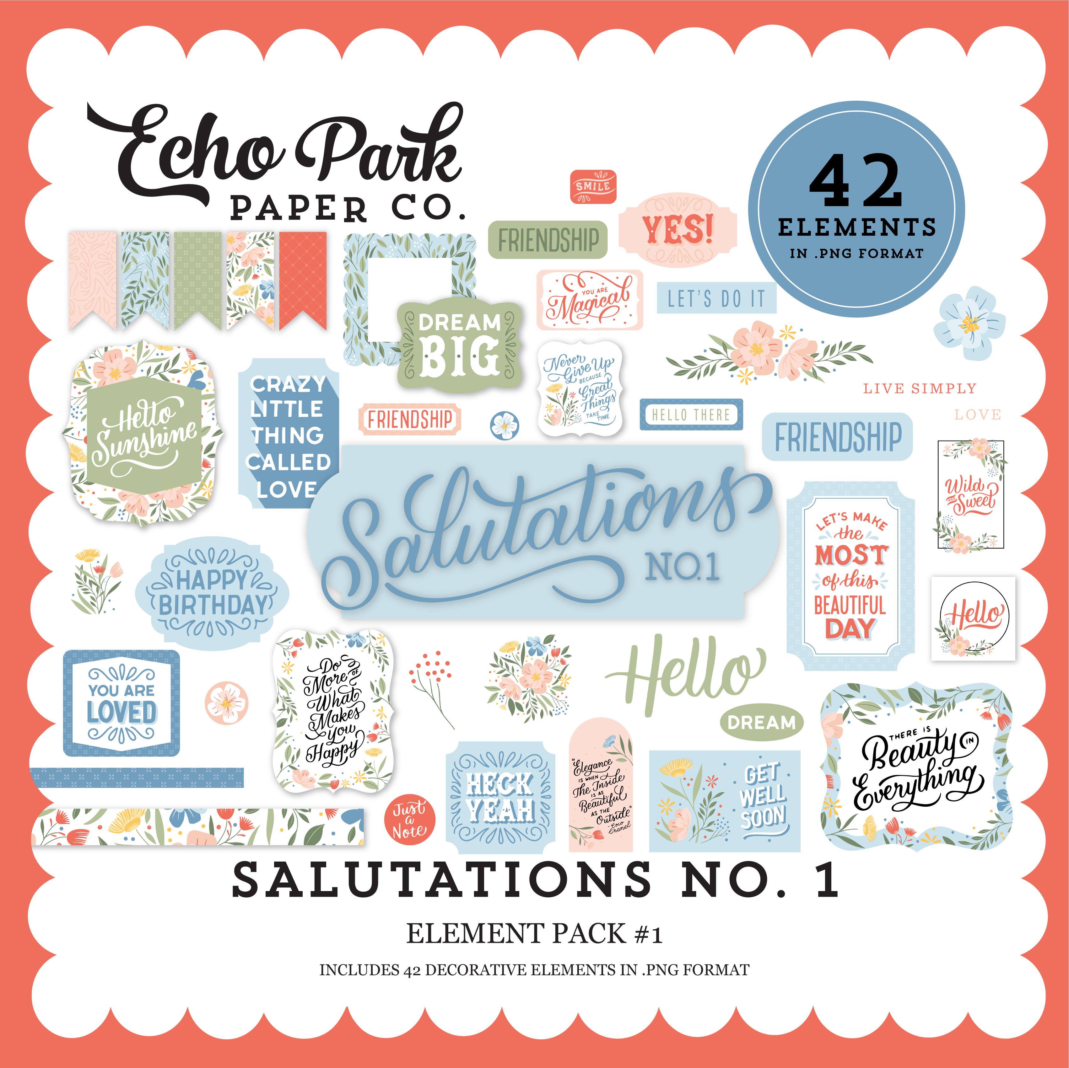 Salutations No. 1 Element Pack #1