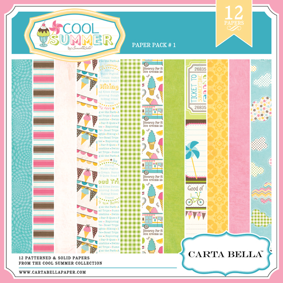 COOL SUMMER Paper Pack 1