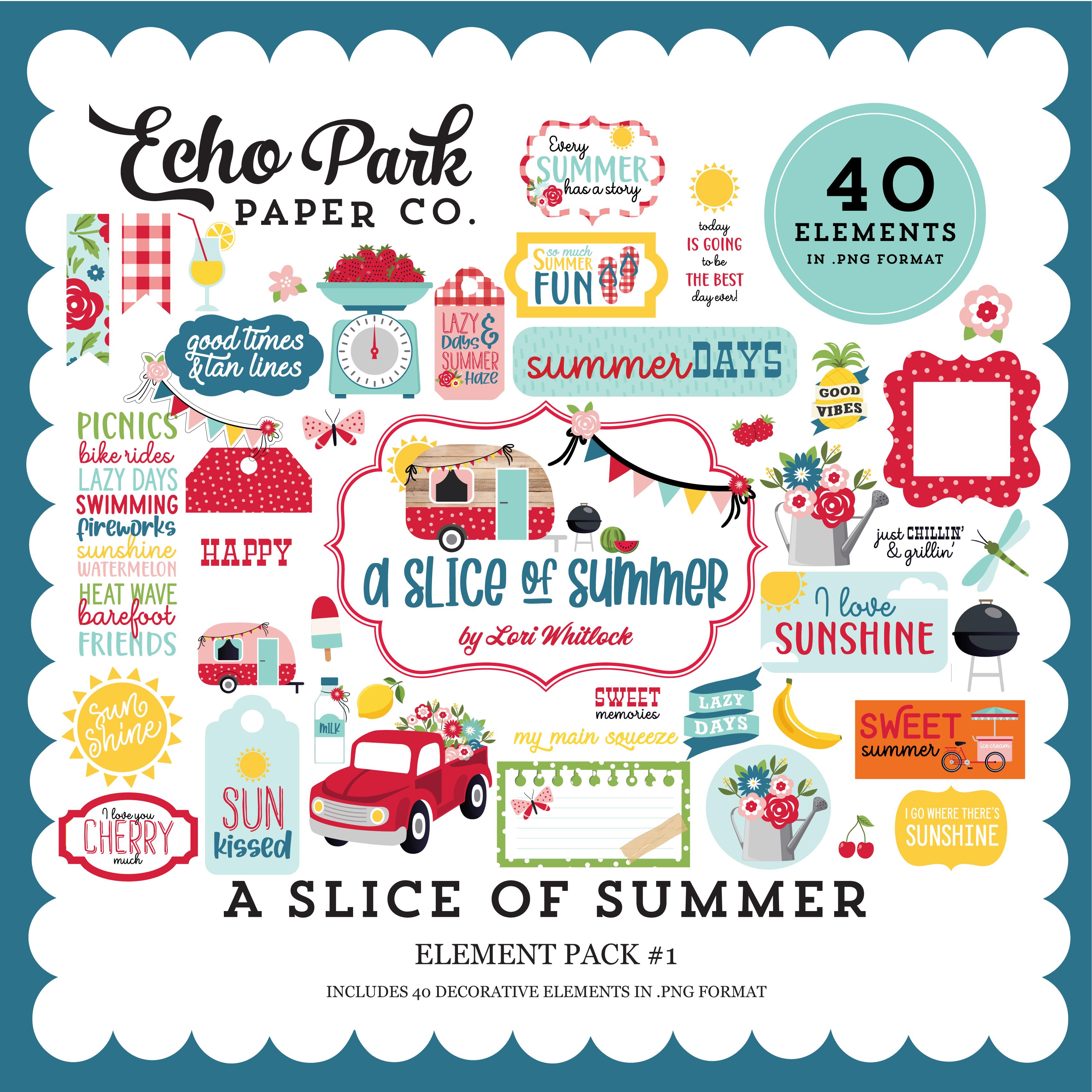 A Slice of Summer Element Pack #1