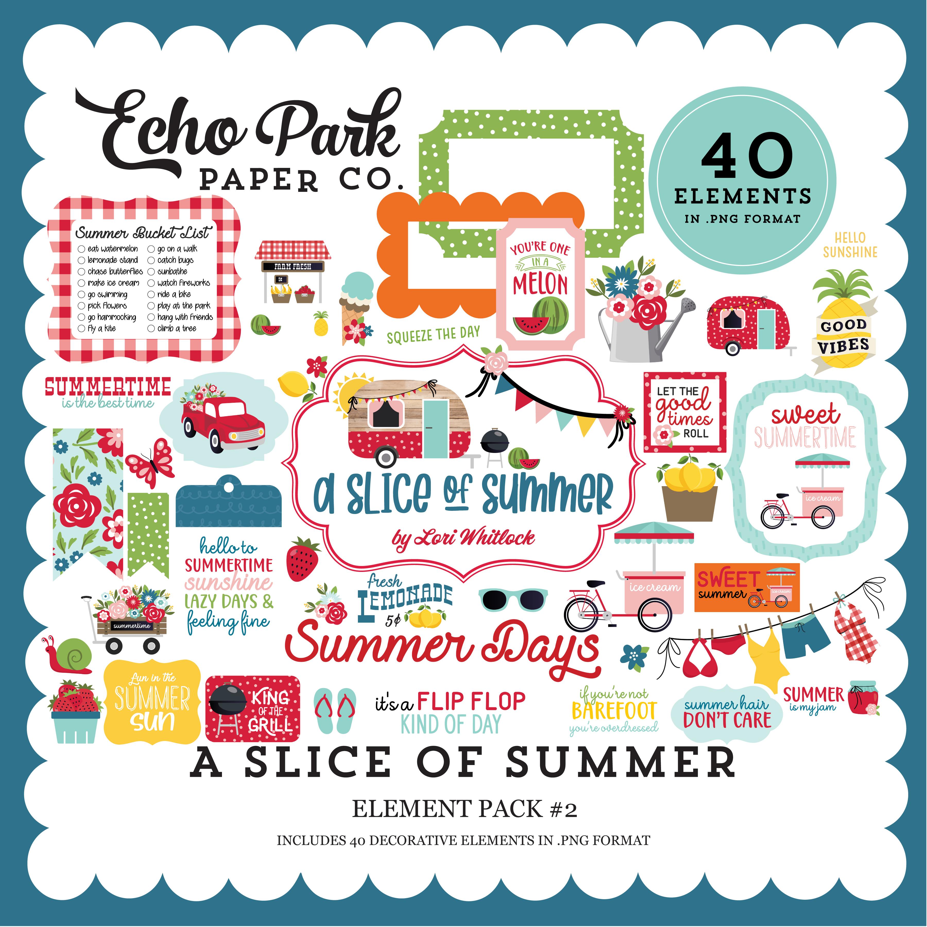 A Slice of Summer Element Pack #2
