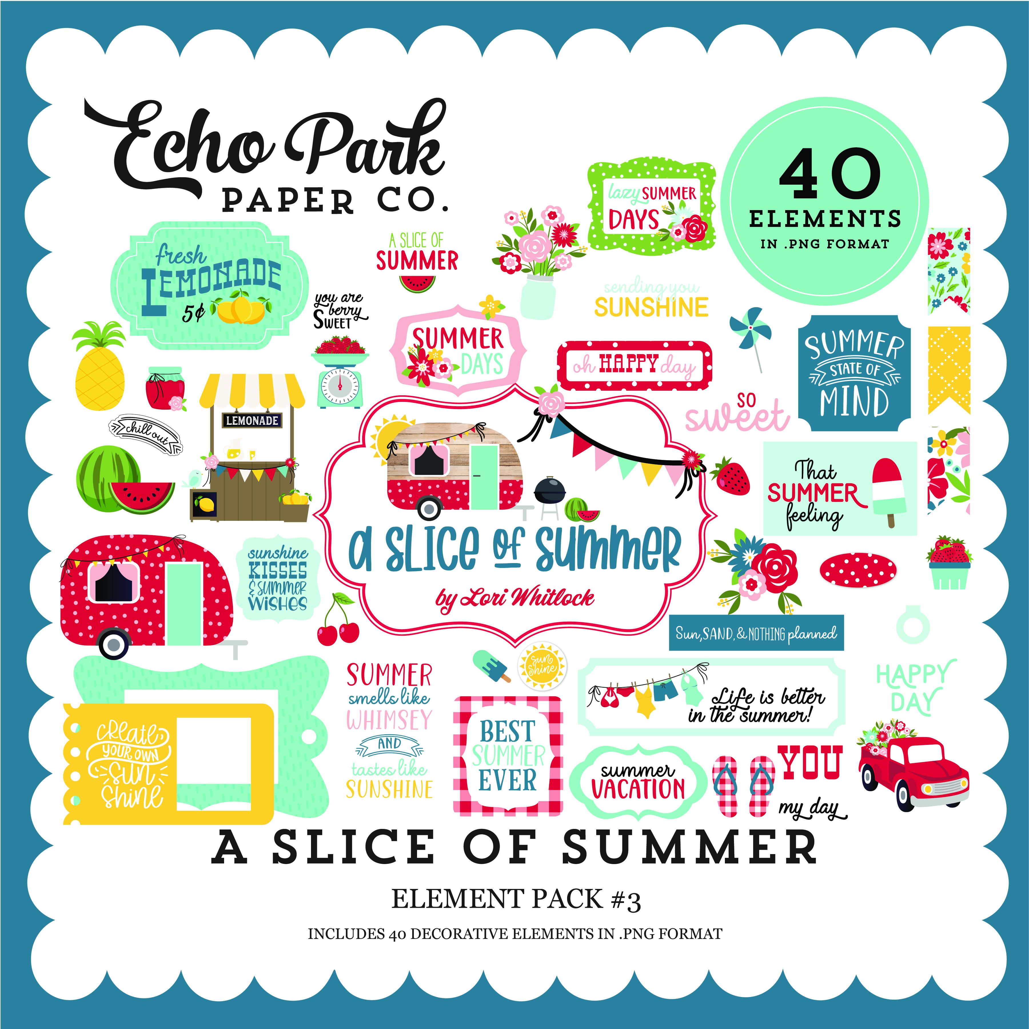 A Slice of Summer Element Pack #3