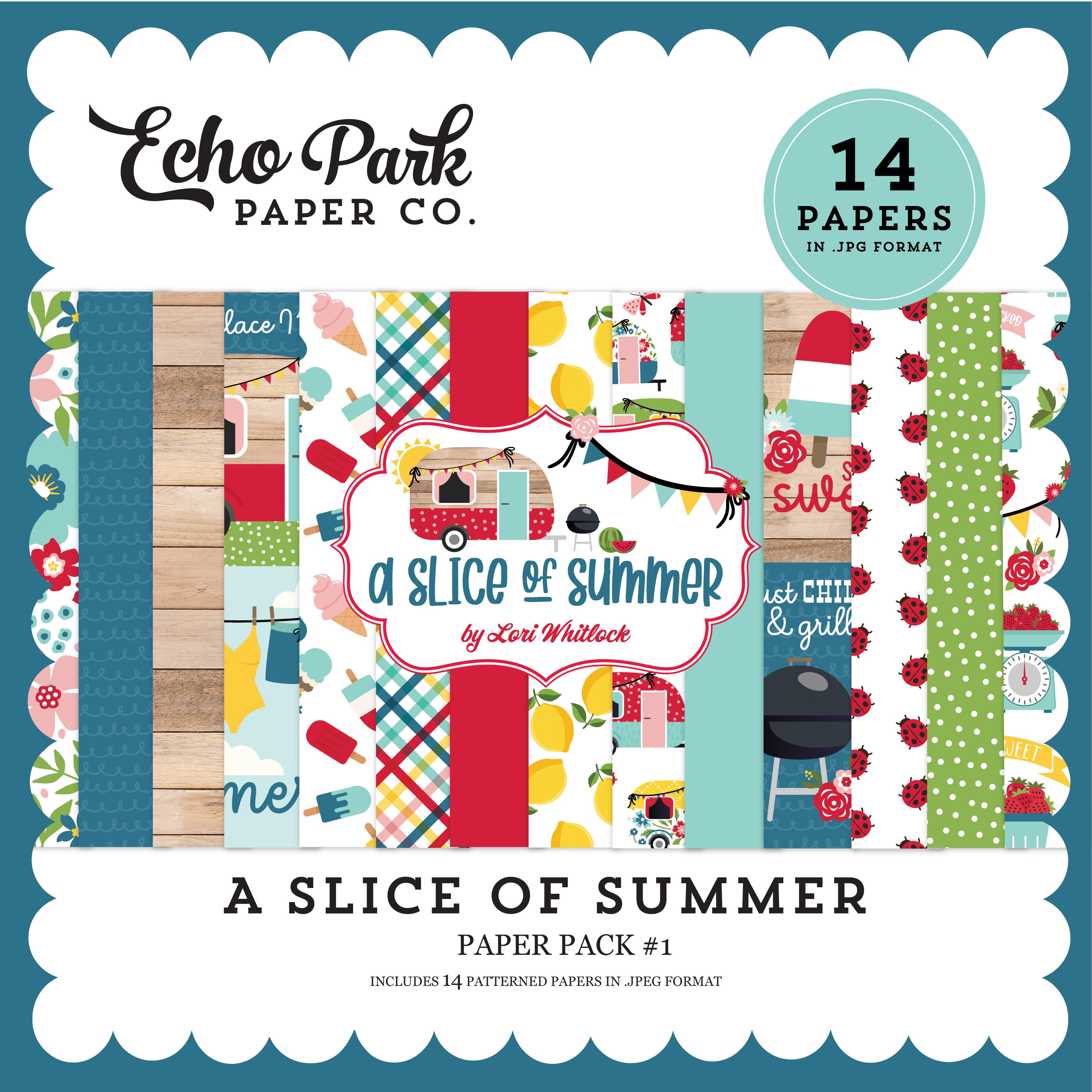 A Slice of Summer Paper Pack #1