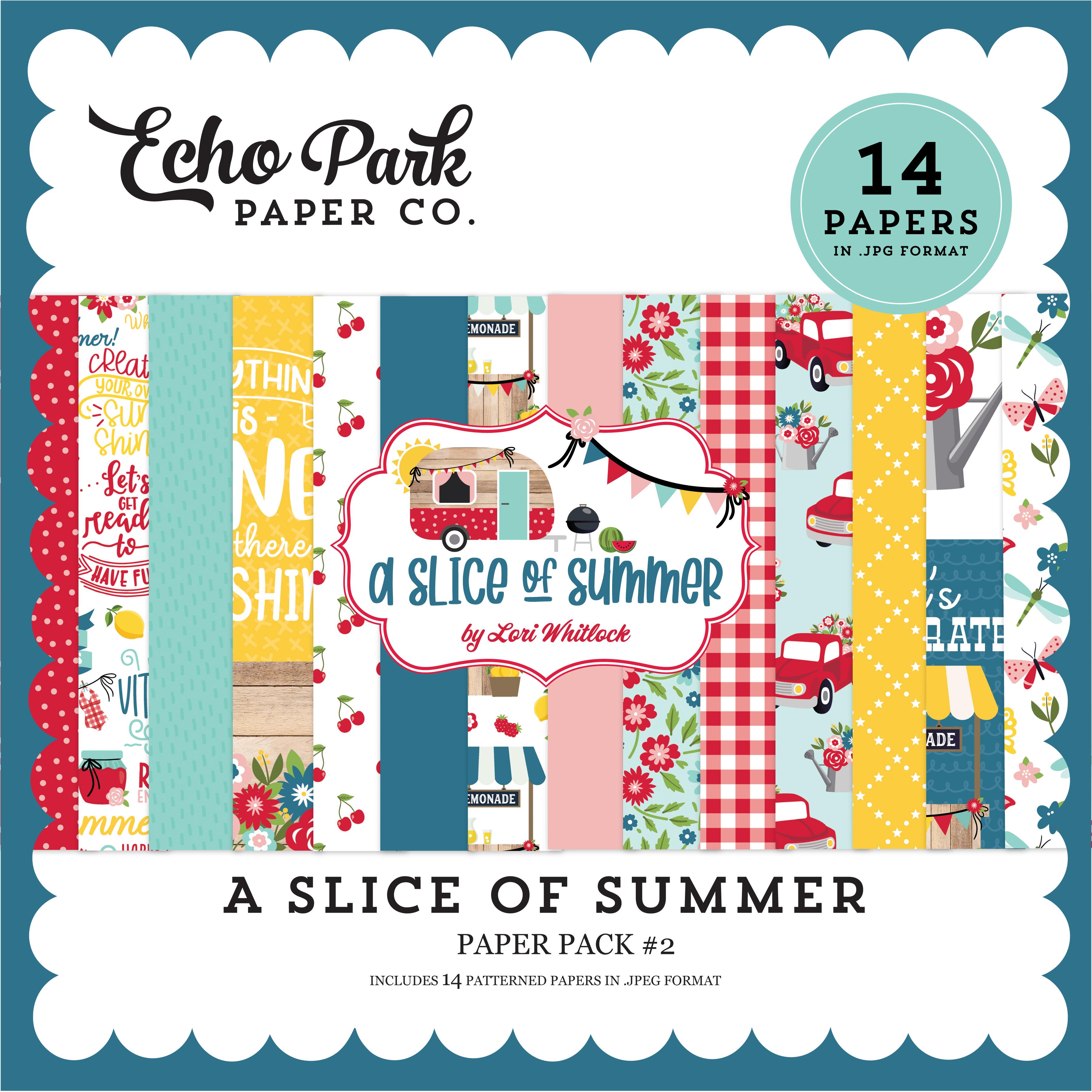 A Slice of Summer Paper Pack #2
