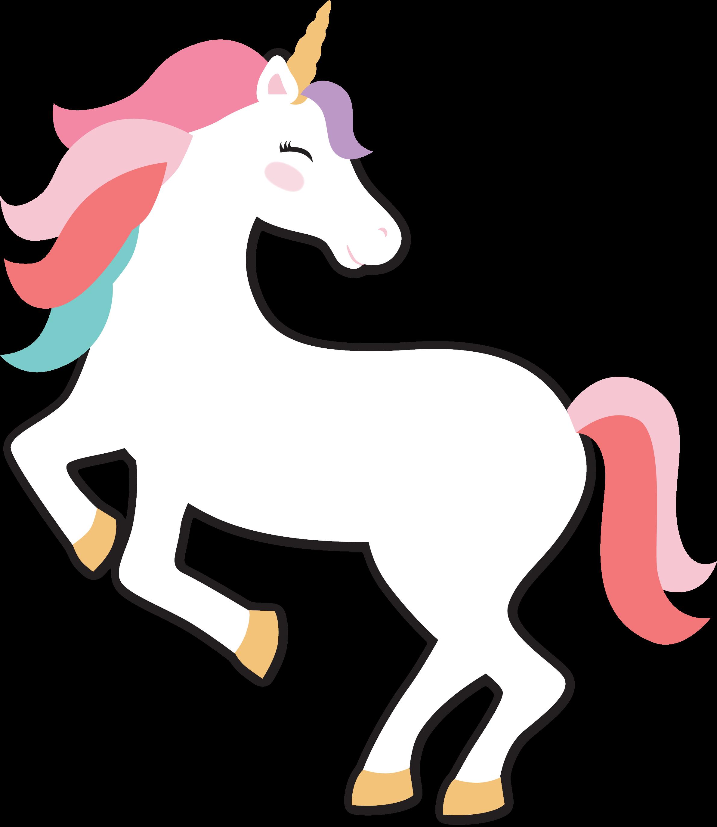 Unicorn Birthday SVG Cut File
