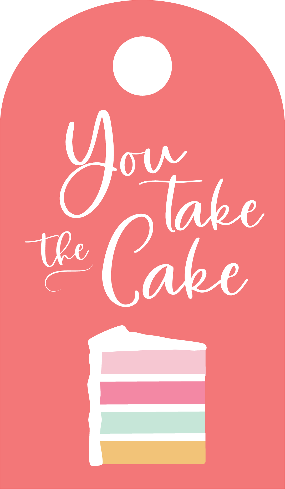 You Take The Cake SVG Cut File