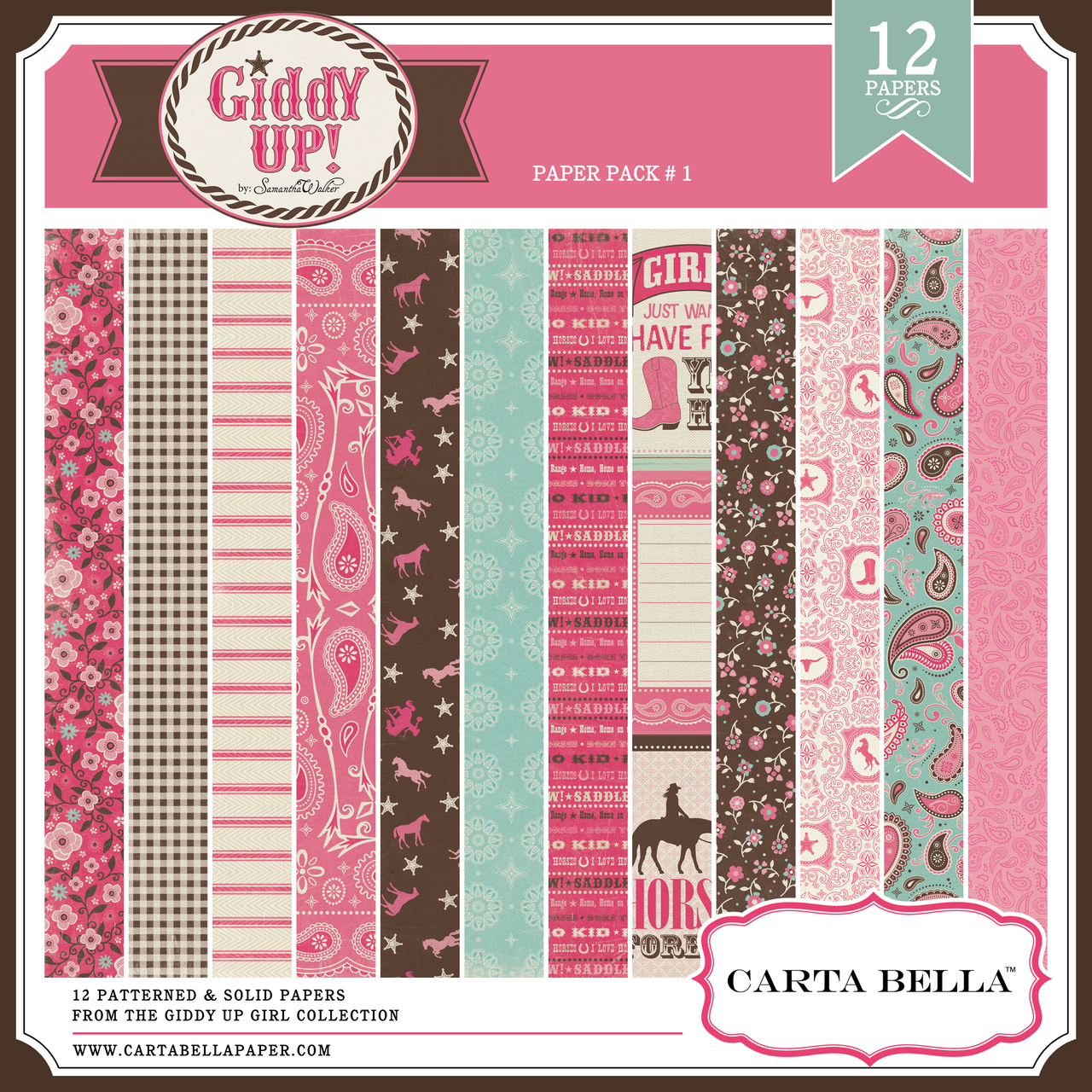 GIDDY UP {GIRL} Paper Pack
