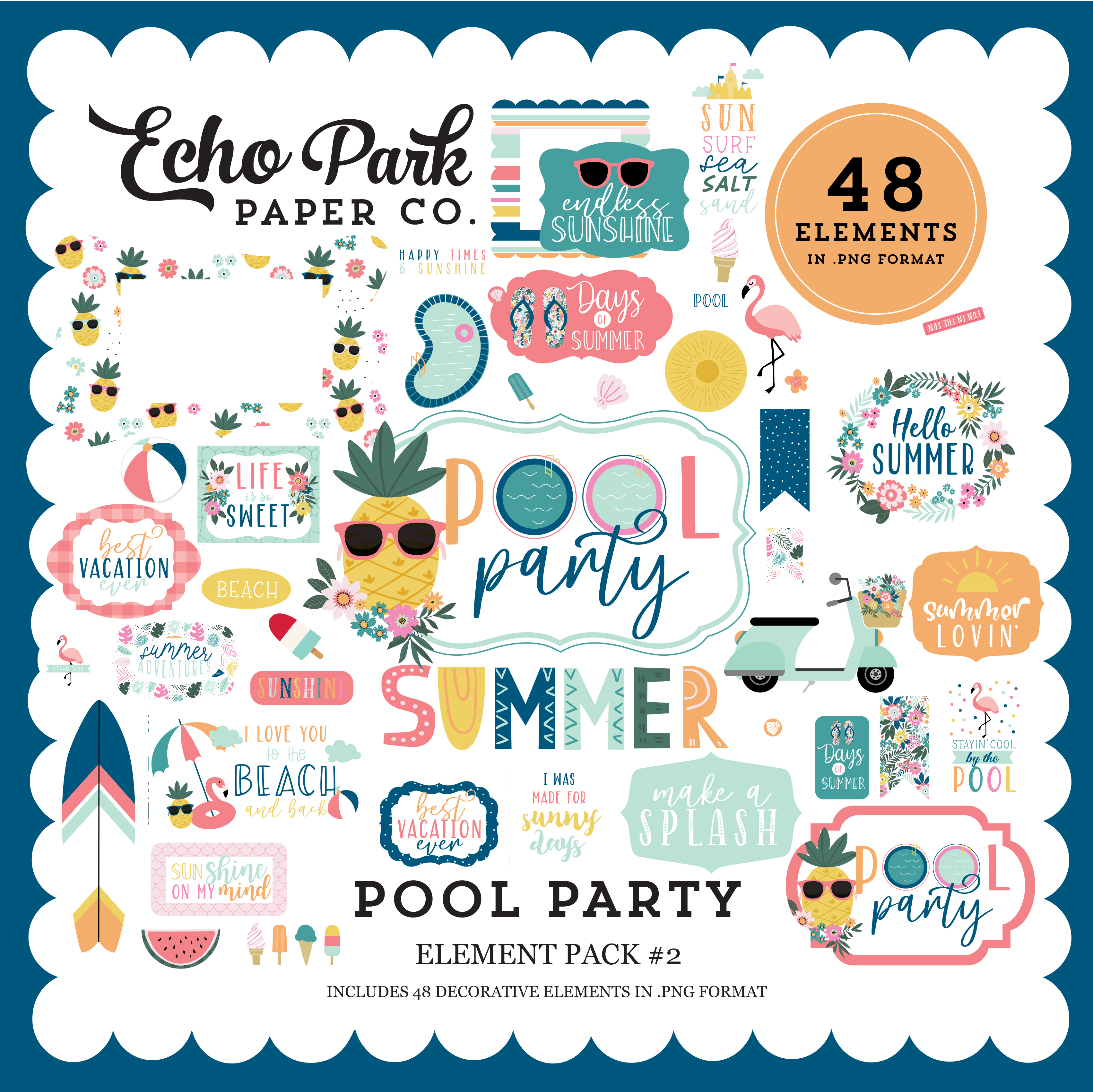 Pool Party Element Pack #2