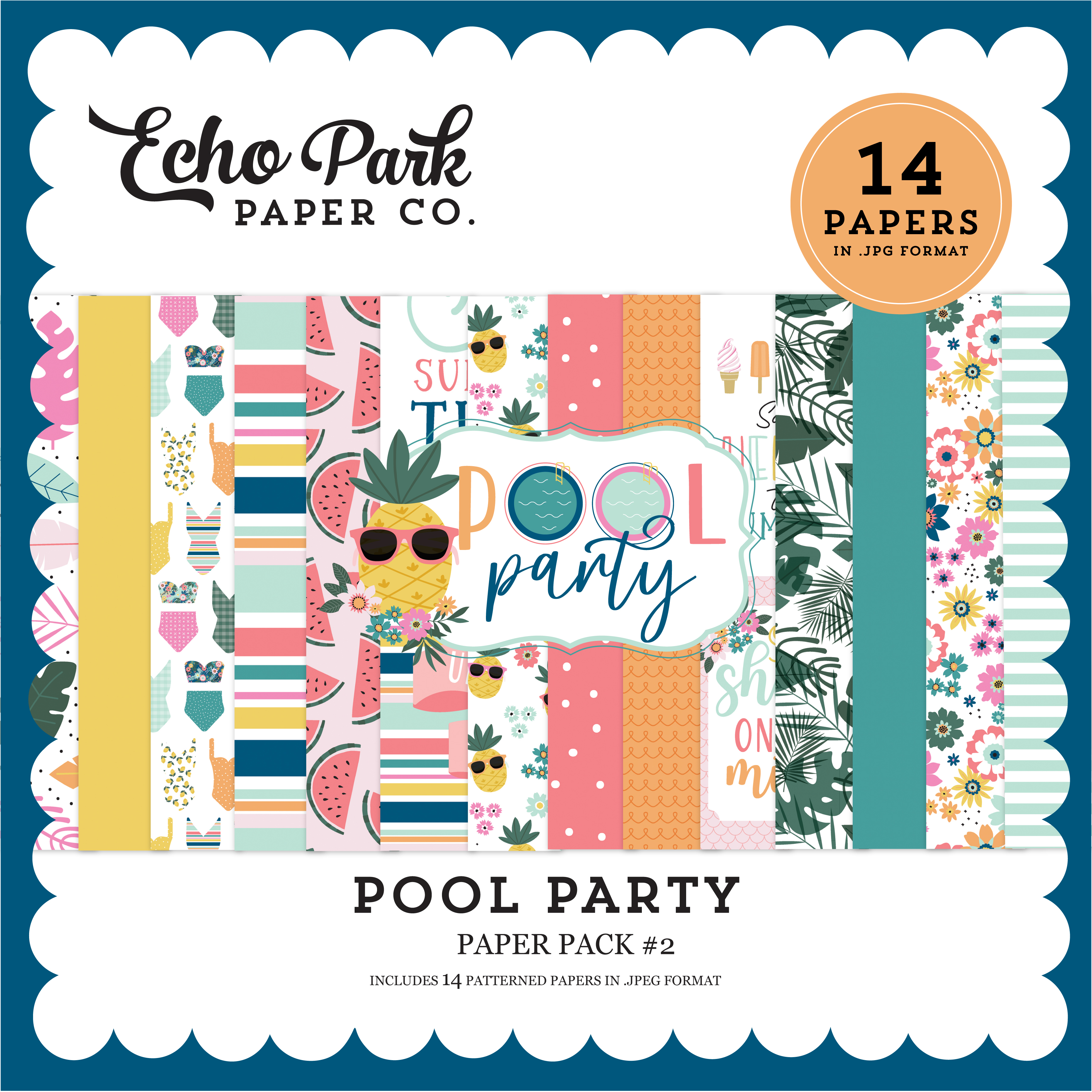 Pool Party Paper Pack #2