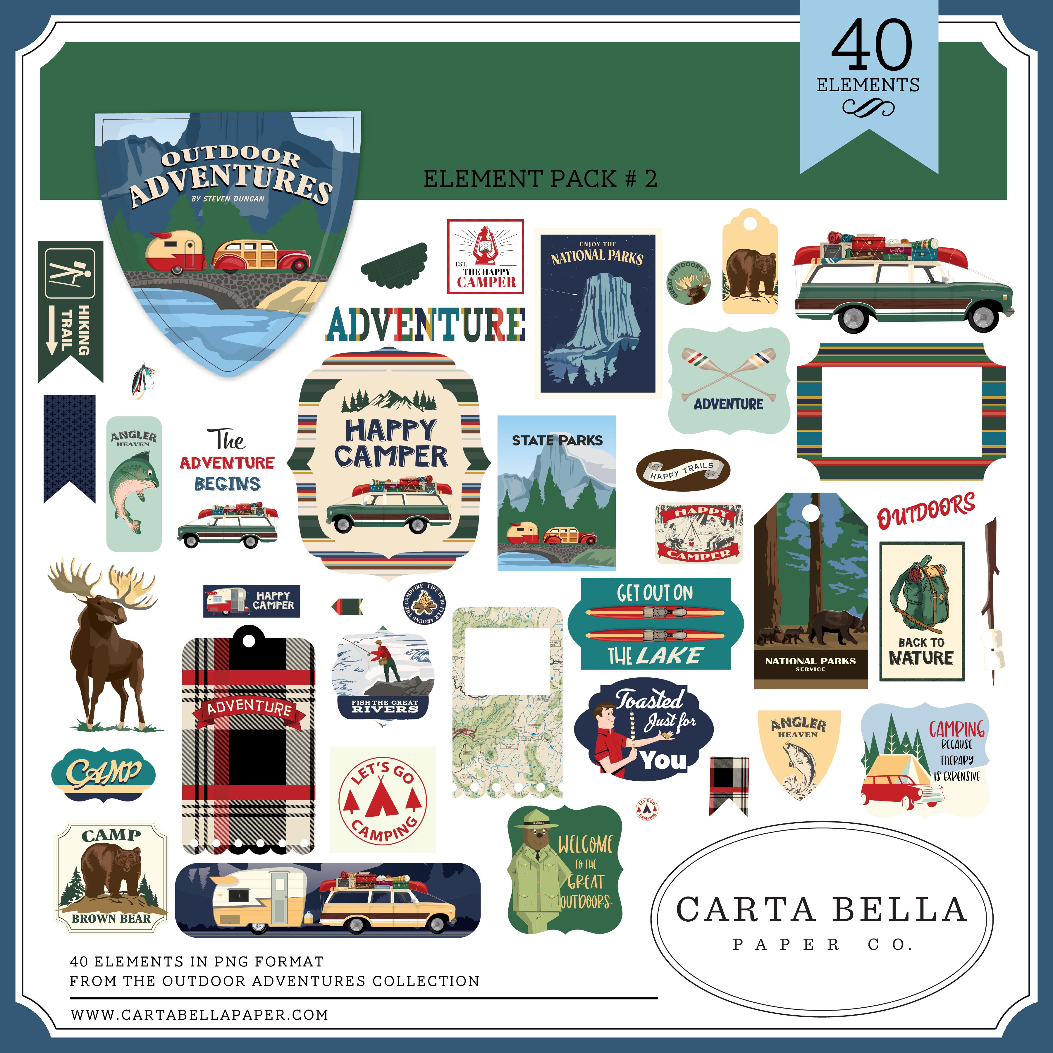 Outdoor Adventures Element Pack #2