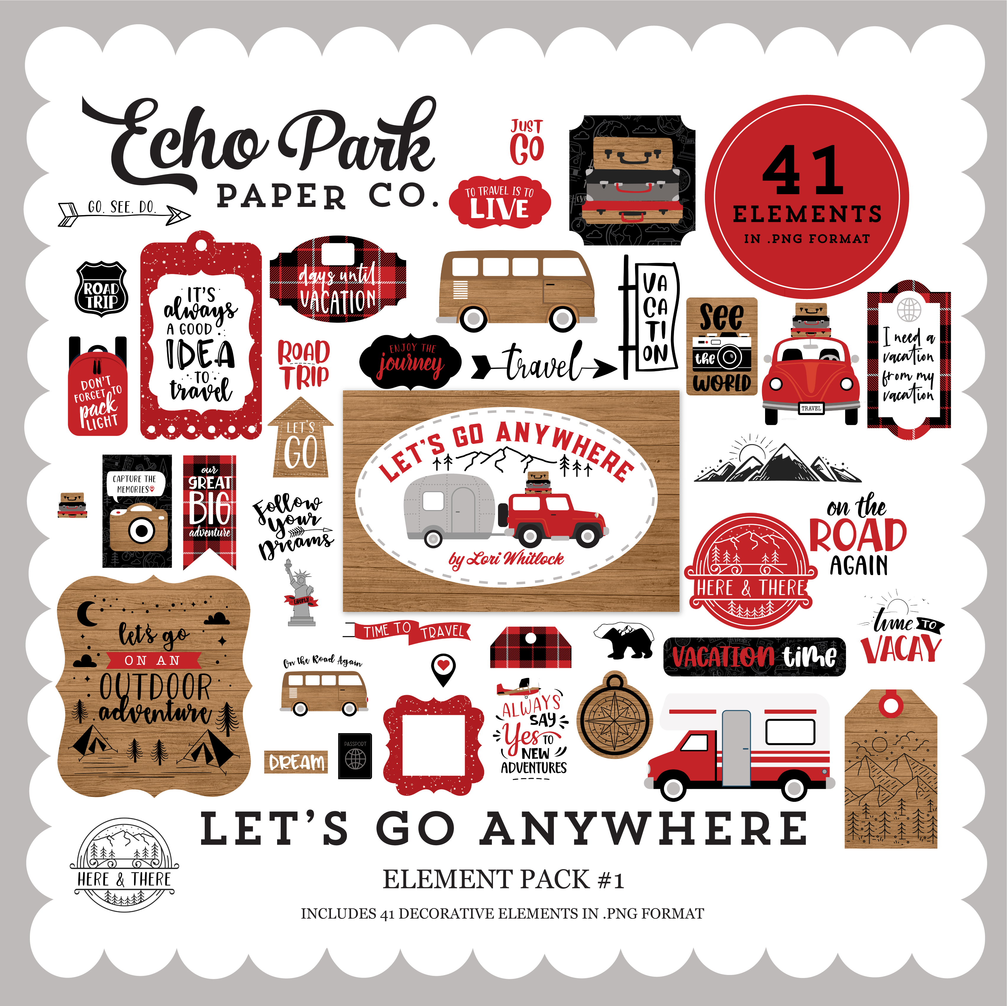 Let's Go Anywhere Element Pack #1