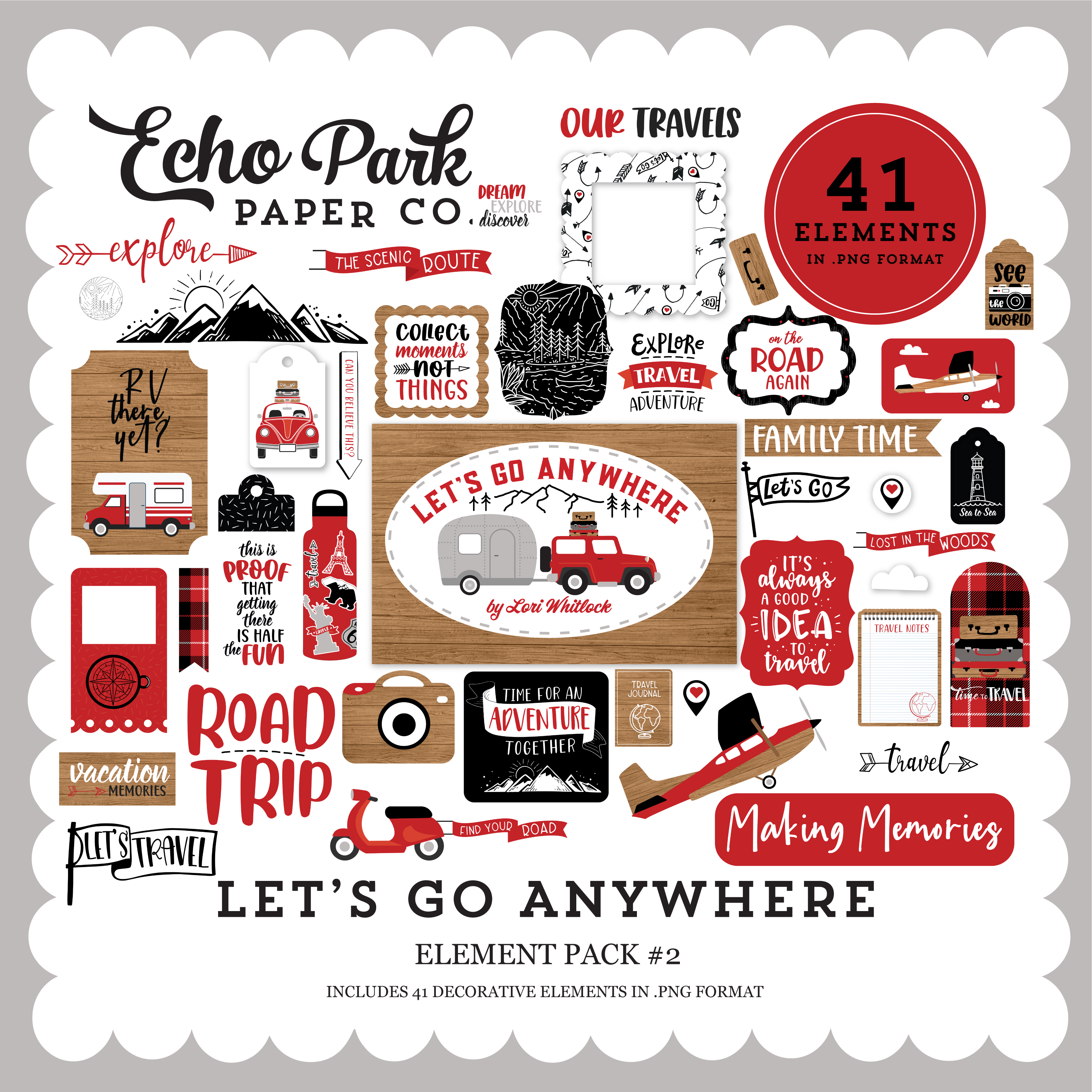 Let's Go Anywhere Element Pack #2
