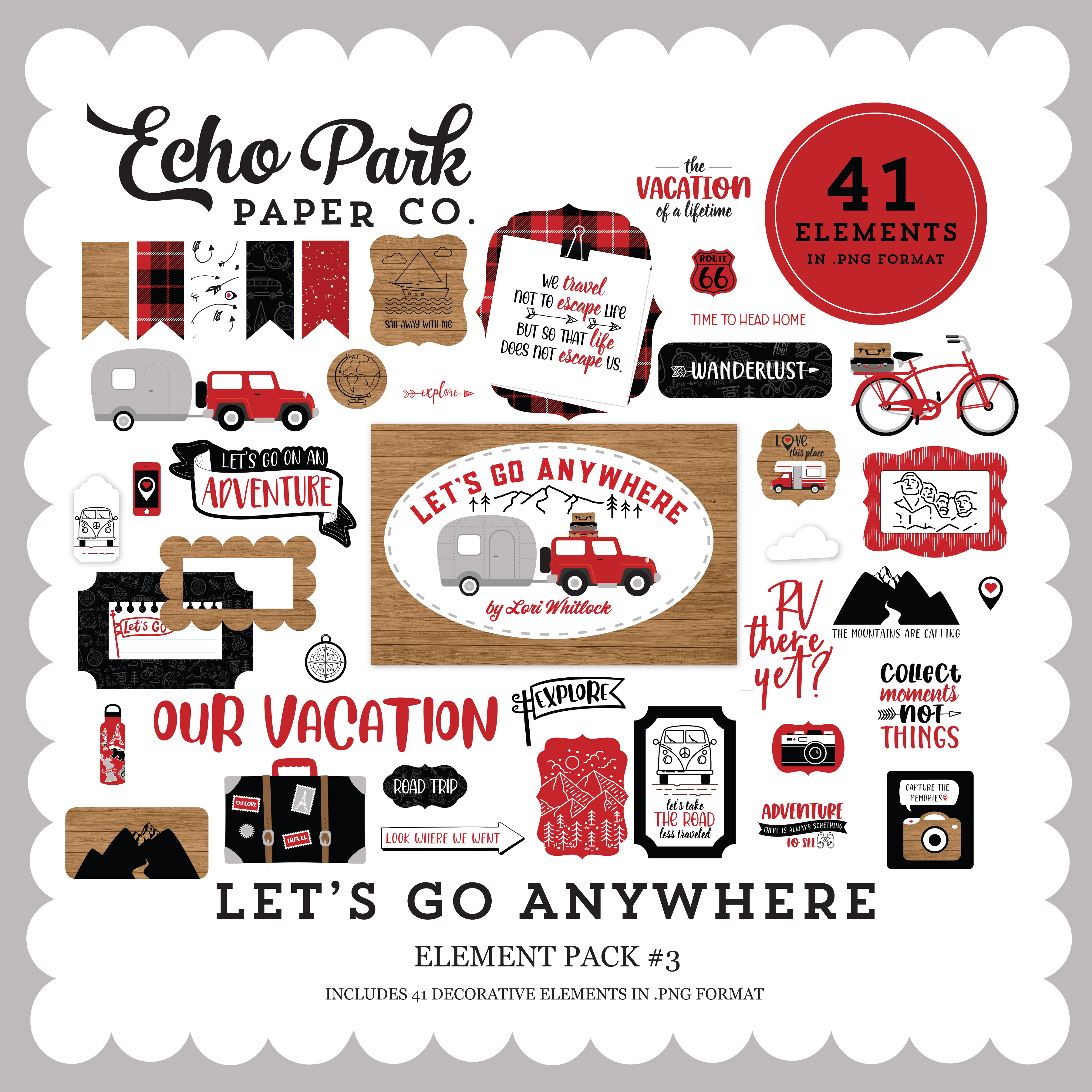 Let's Go Anywhere Element Pack #3