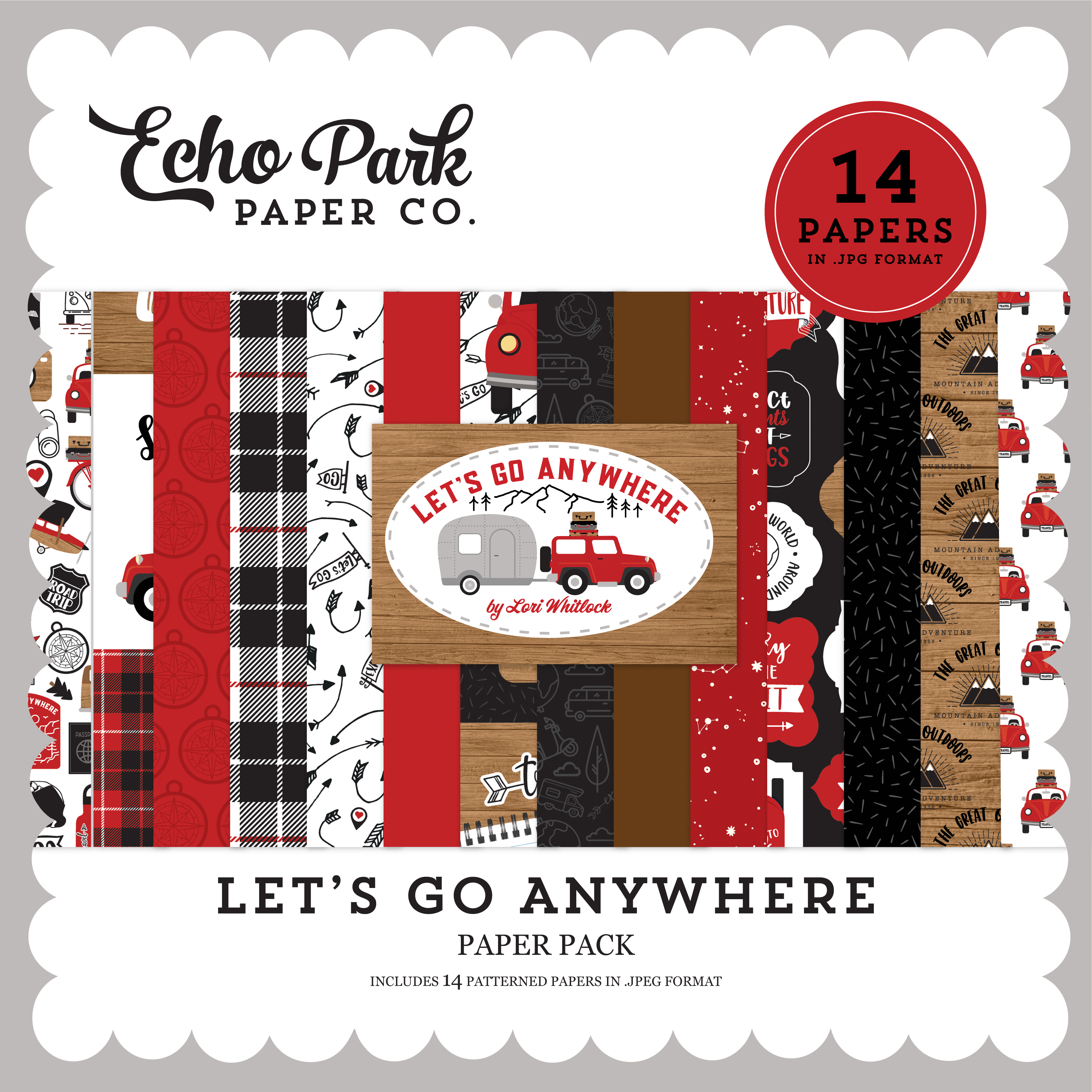 Let's Go Anywhere Paper Pack #1