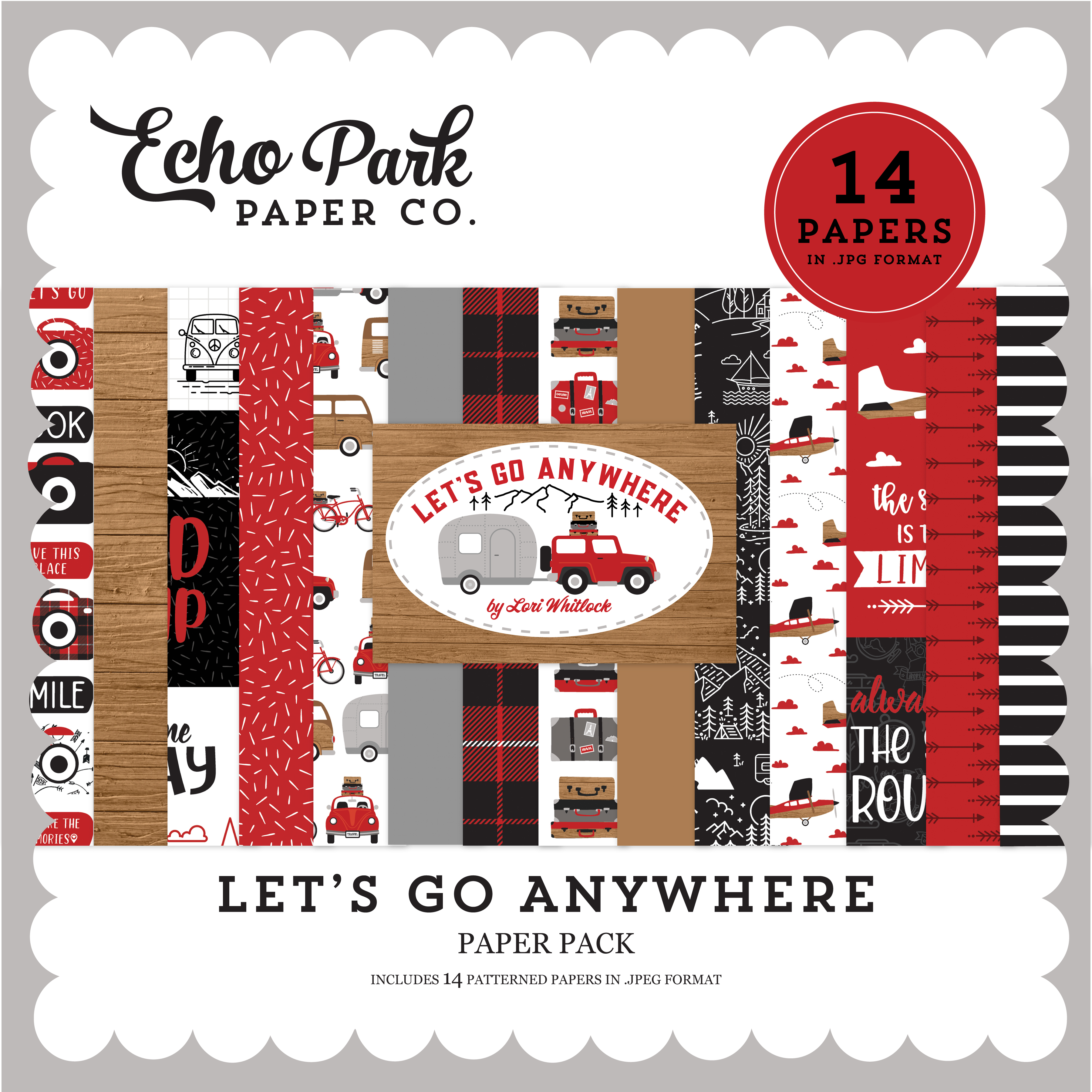 Let's Go Anywhere Paper Pack #2