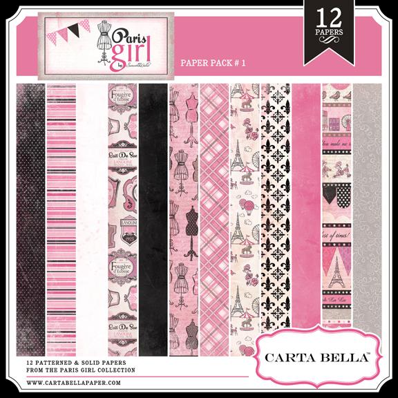 PARIS GIRL Paper Pack 1