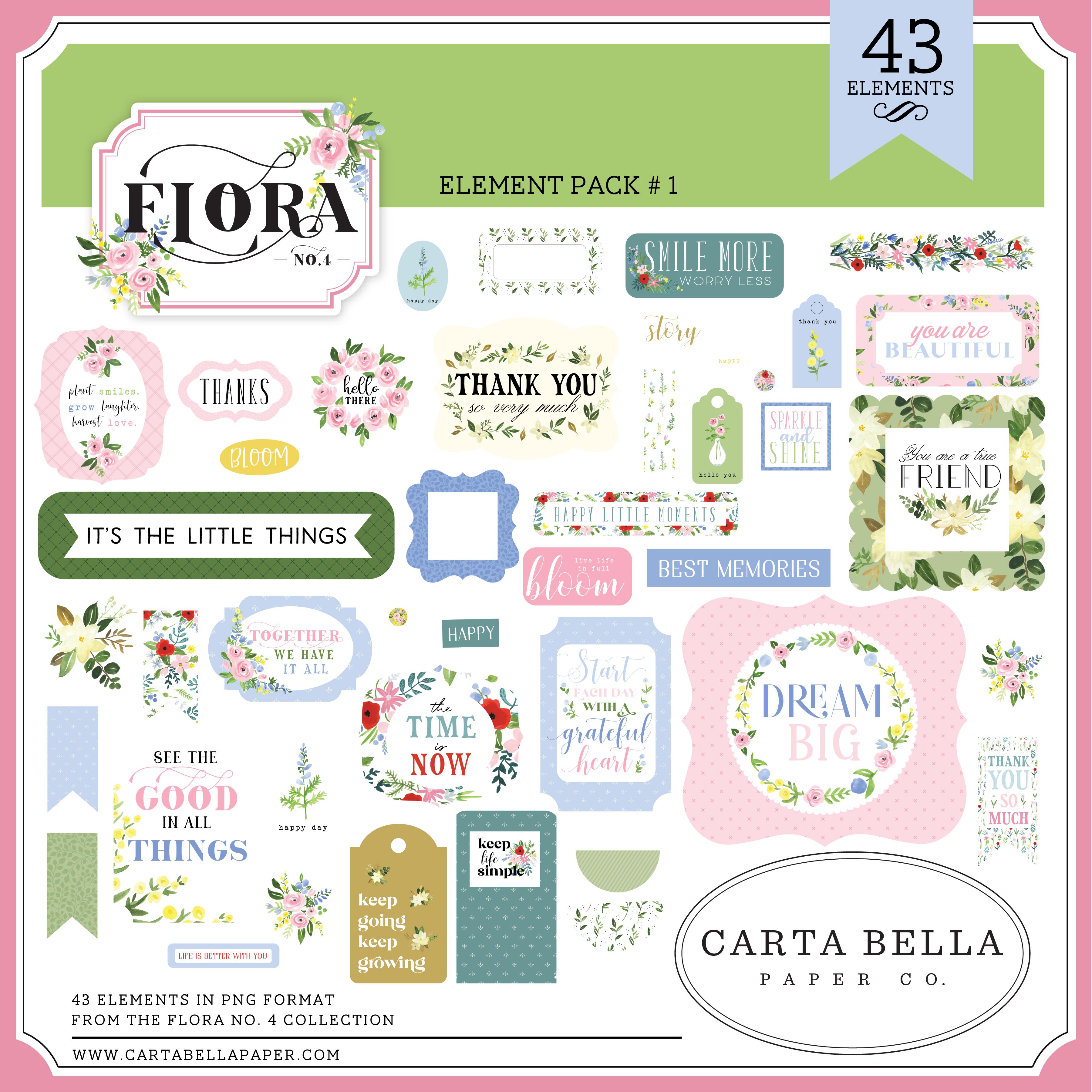 Flora No. 4 Element Pack #1